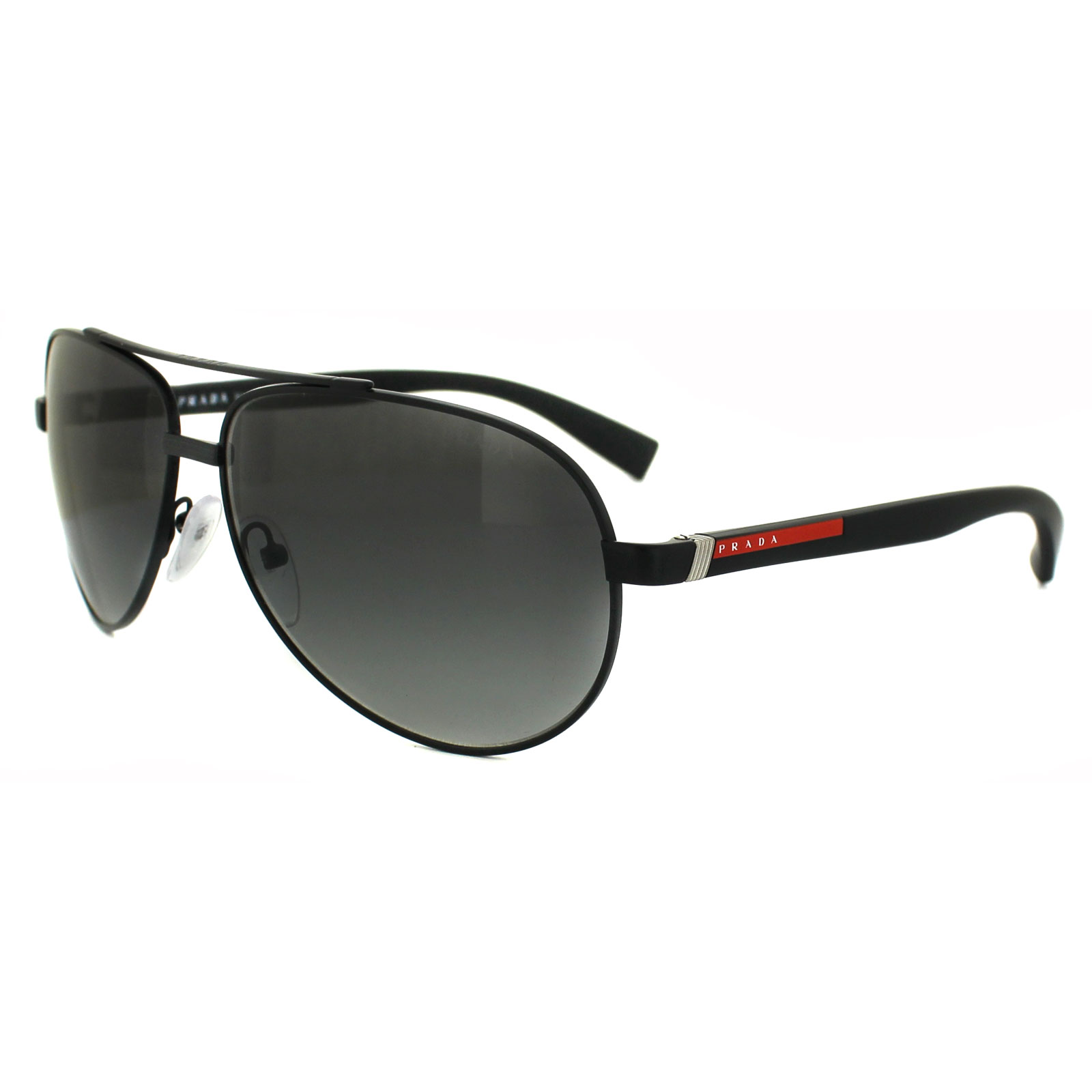 de55f3242751 Prada Sport 51ns 1b03m1 Black 51ns Aviator Sunglasses