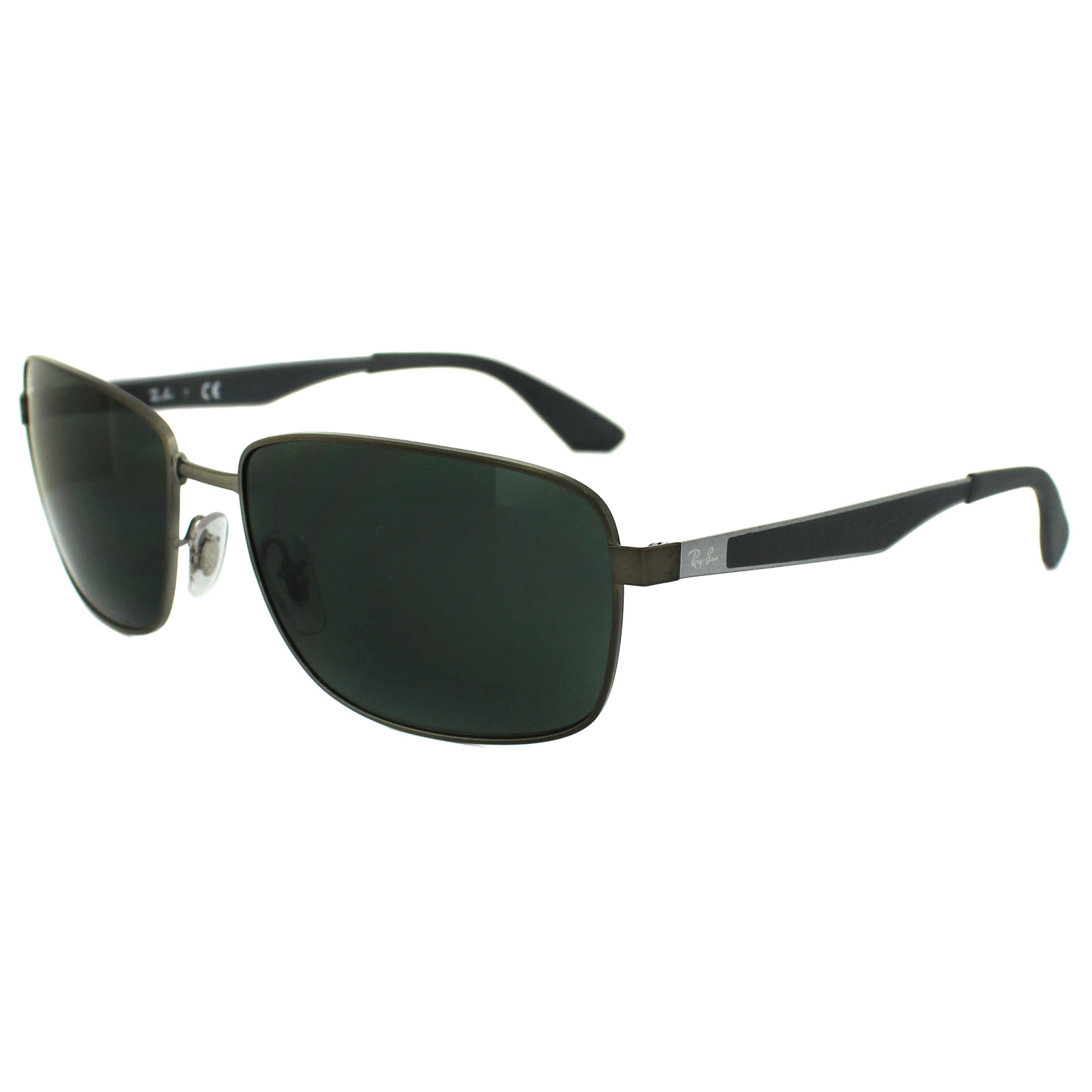 ray ban sunglasses gunmetal  ray ban sunglasses 3529 029/71 gunmetal green