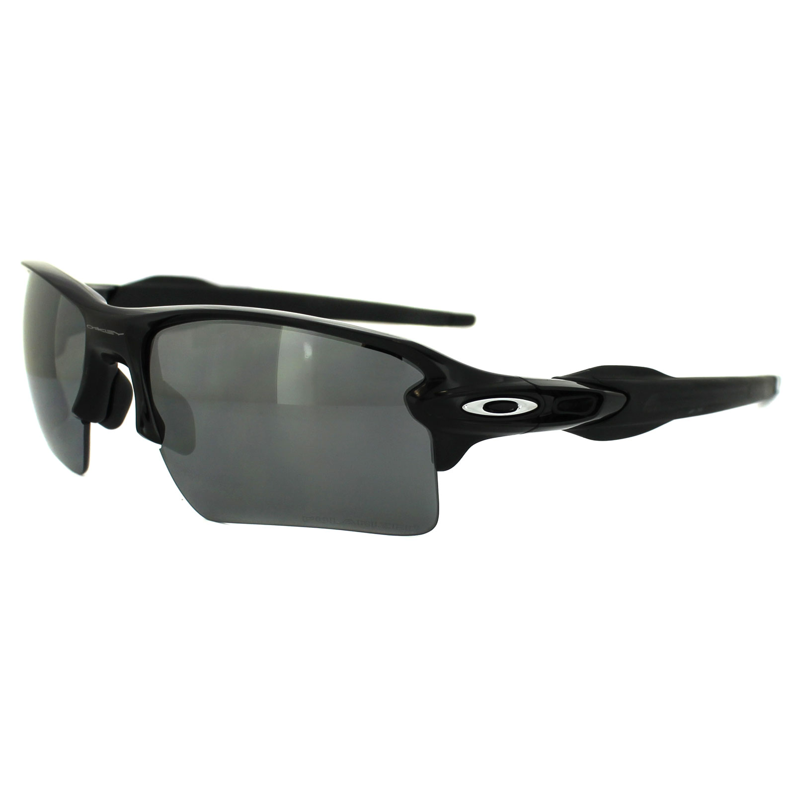 ed5a37f250 Oakley Flak 2.0 Polarized Sunglasses Polished Black Black Iridium ...