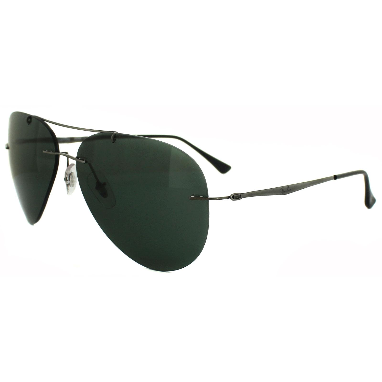 Ray Ban Sunglasses Aviator Light Ray 8055 004 71 Gunmetal
