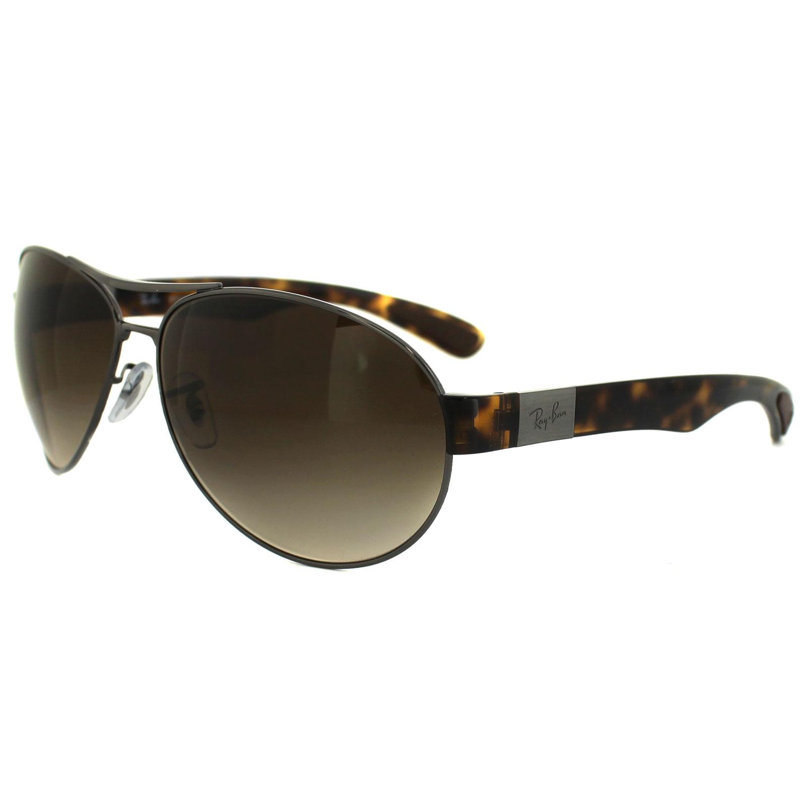 e0fa4de0ca7 Ray Ban Metal Wrap Sunglasses Tortoise Brown
