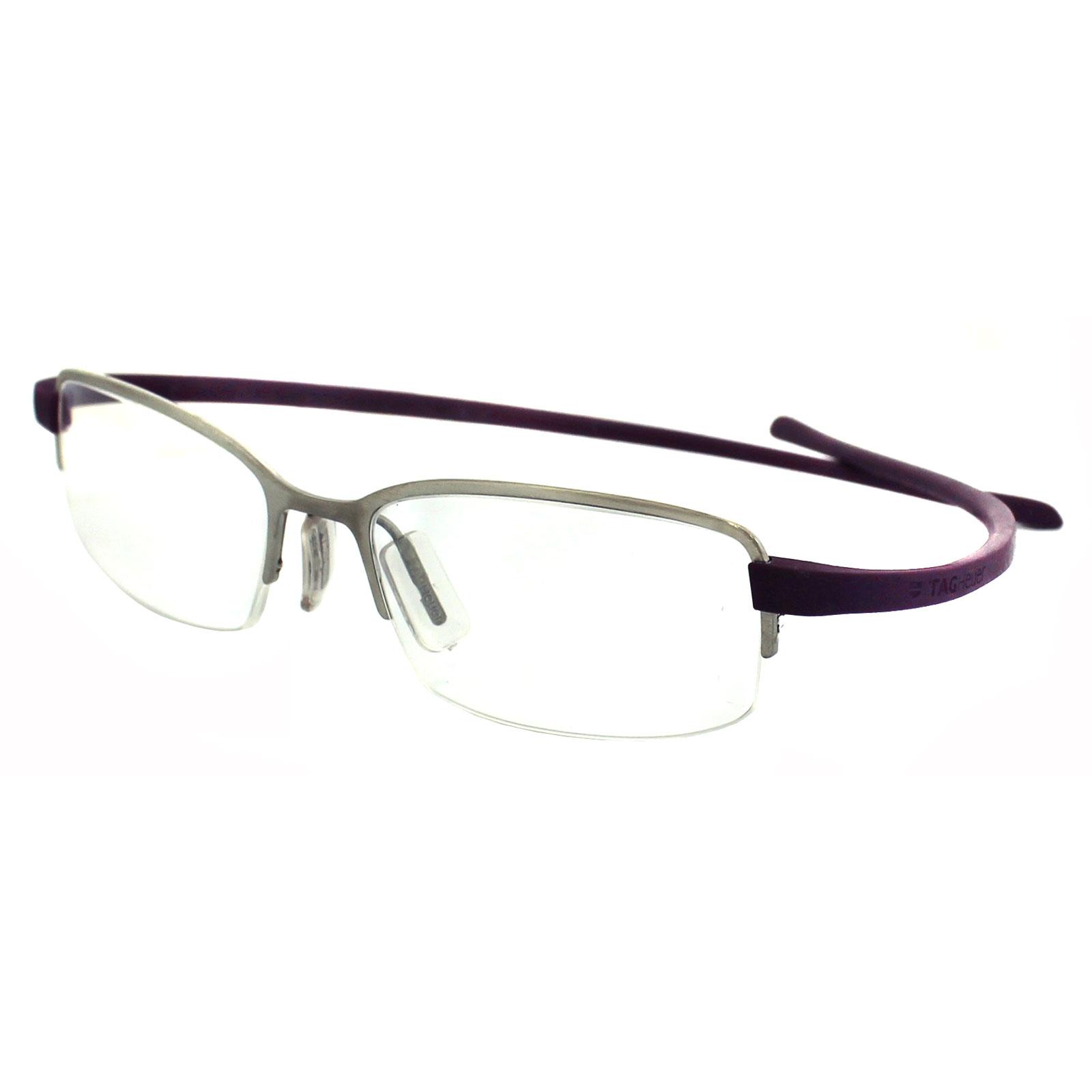 Tag heuer eyeglasses frames uk - Sentinel Tag Heuer Glasses Frames 3201 013 Silver Violet