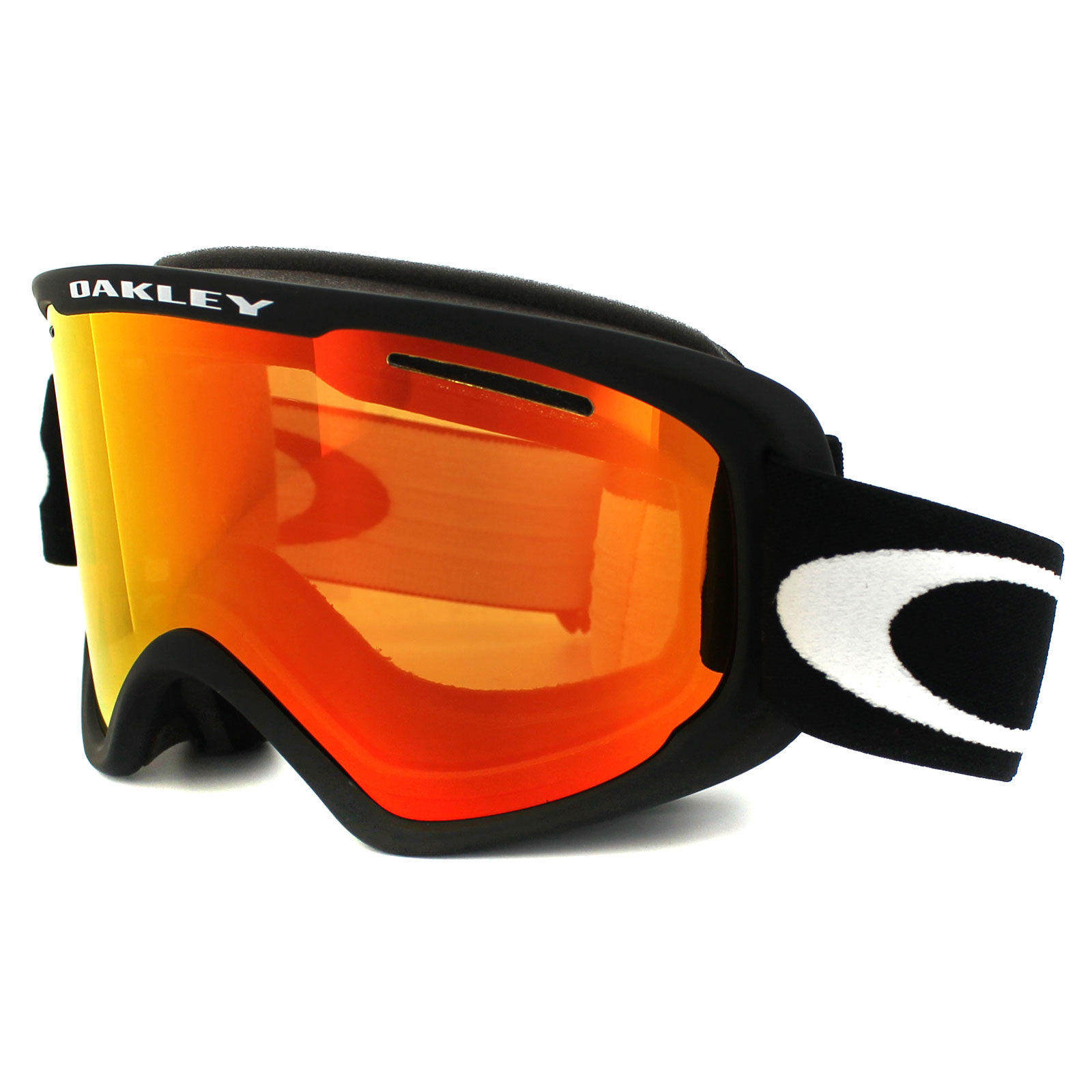new oakley goggles  Oakley Ski Snow Goggles 02 XM OO7066-01 Matt Black Fire Iridium