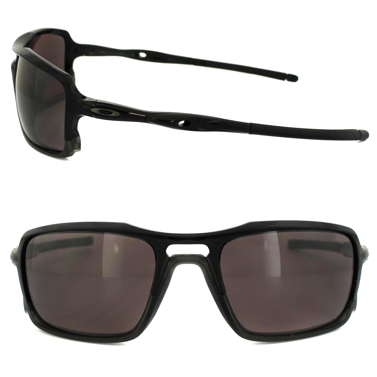 2fb63e923ea8a Oakley Sunglasses Triggerman OO9266-06 Polished Black Prizm Daily Polarized    eBay