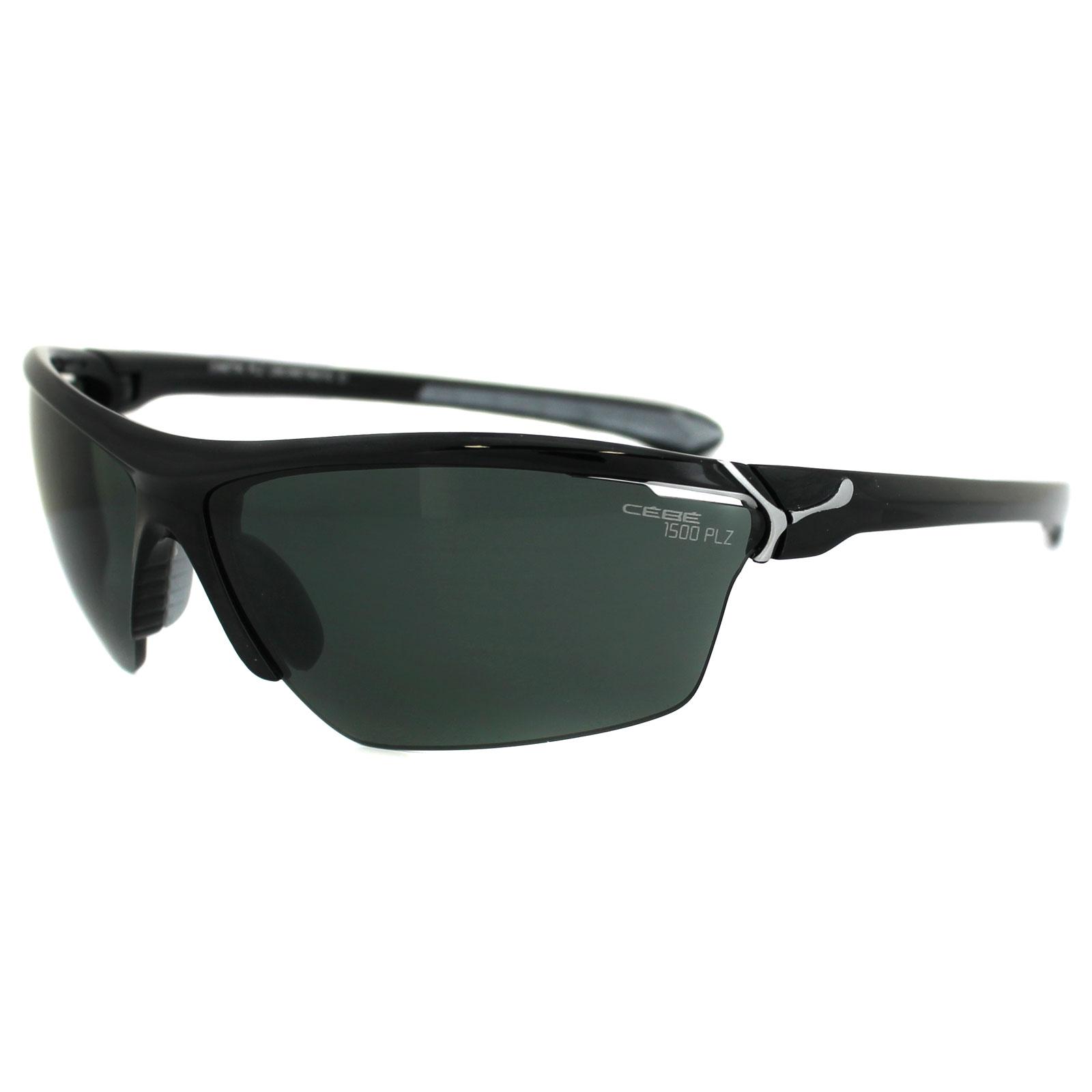 dd51a1038b Cebe Sunglasses Cinetik CBCINETIK01G Black Grey Polarized
