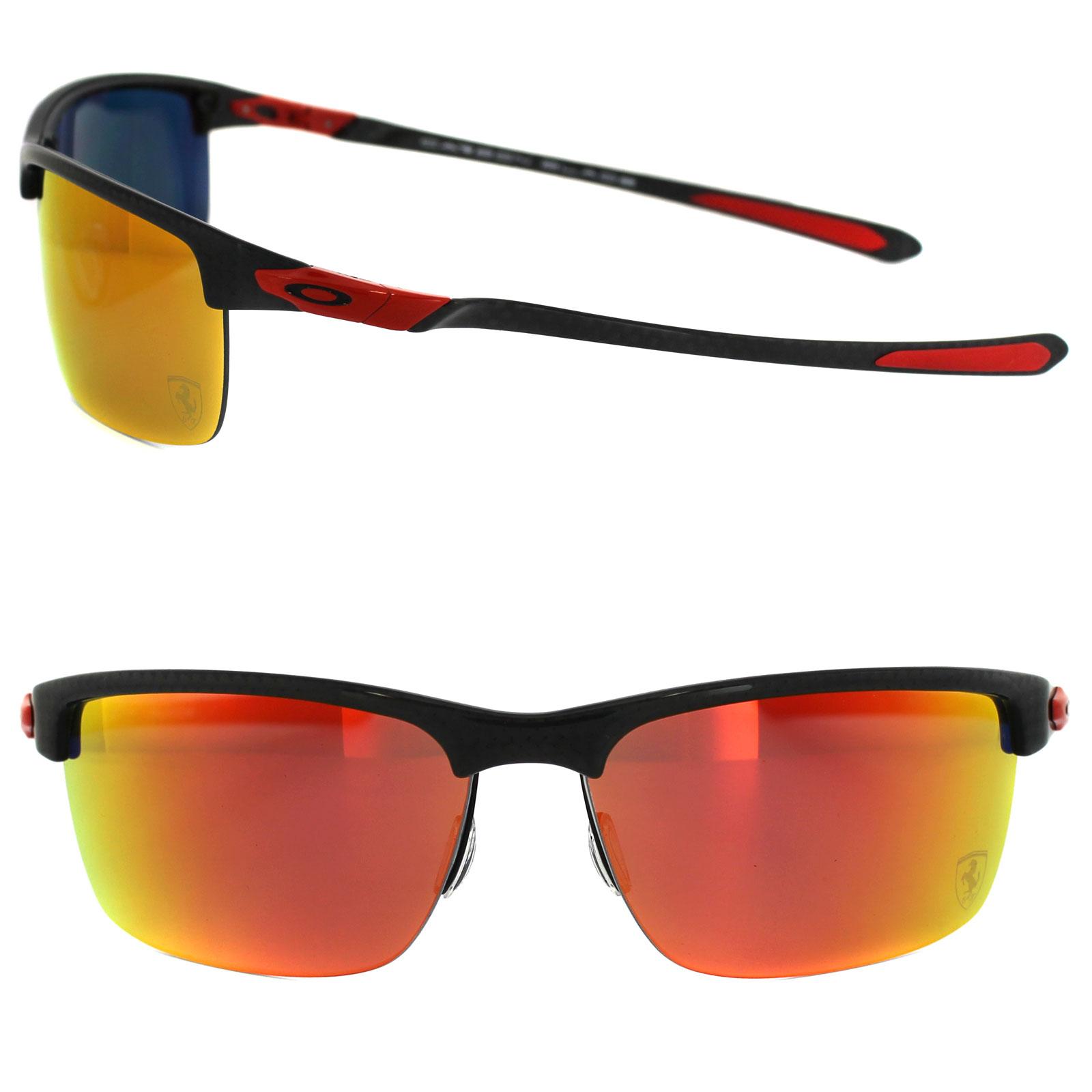 Oakley Sunglasses Carbon Blade Ferrari Carbon Fiber Ruby ...