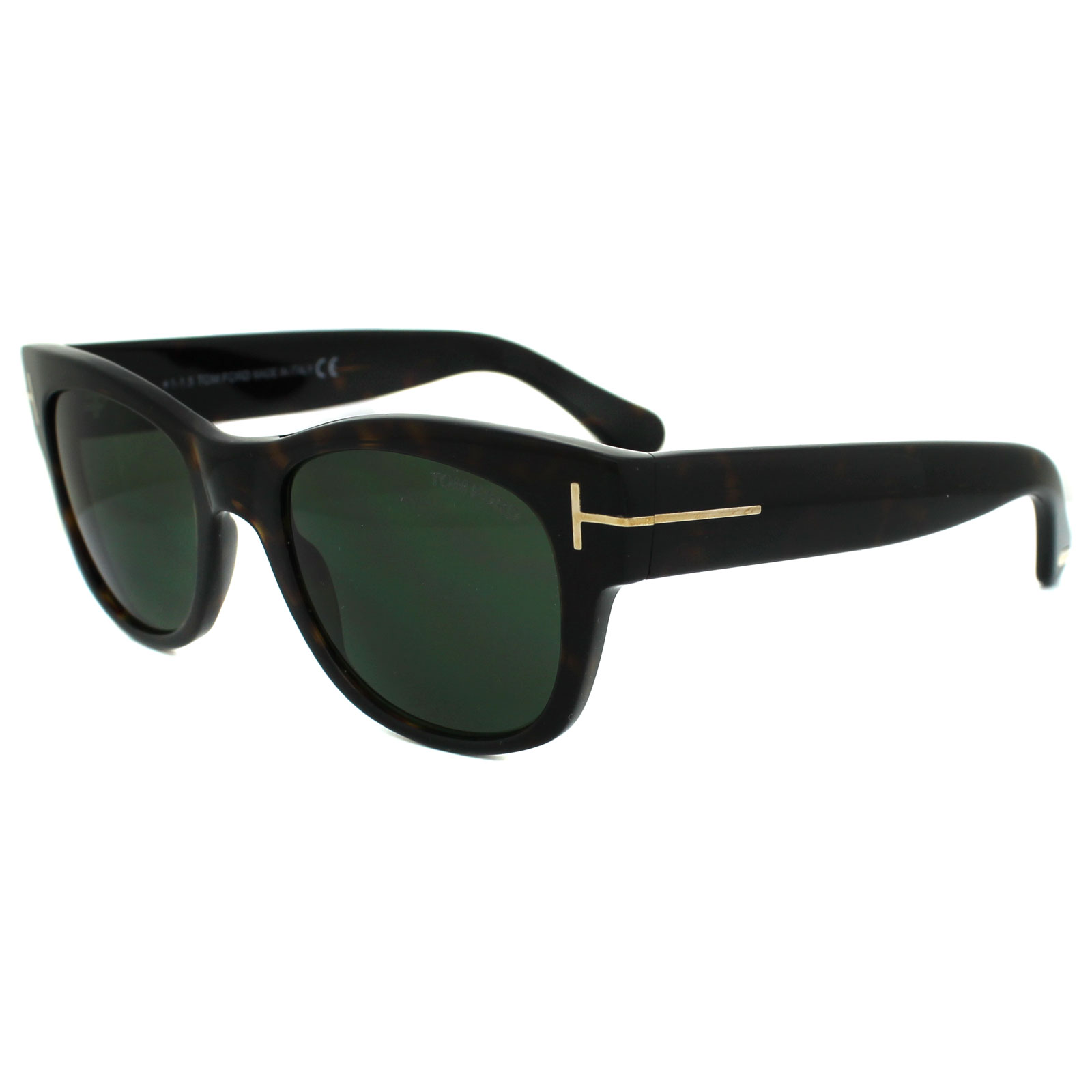 tom ford sonnenbrille 0058 cary 52n dark havana green ebay. Black Bedroom Furniture Sets. Home Design Ideas