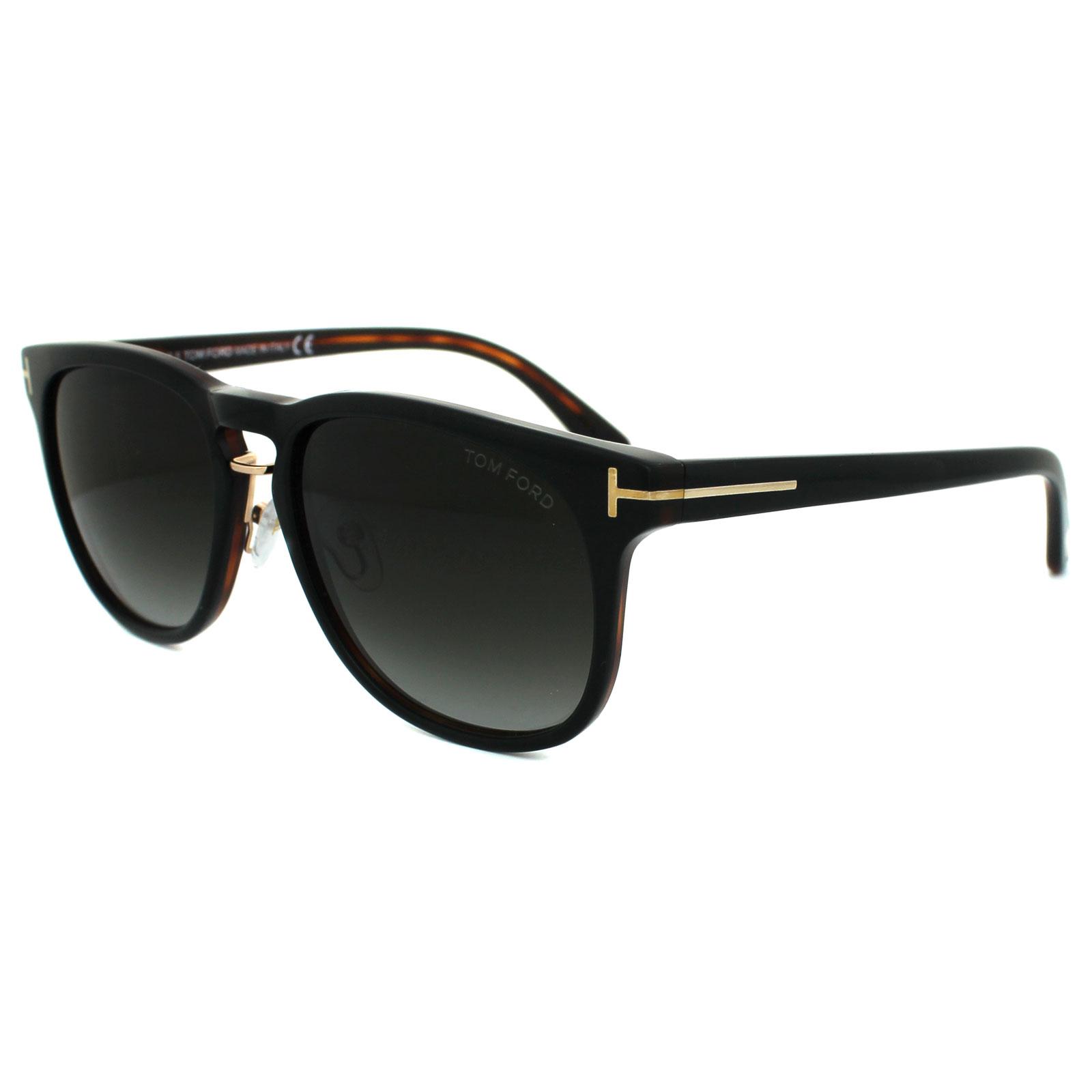 Cheap Tom Ford Sunglasses 0346 Franklin 01v Shiny Black