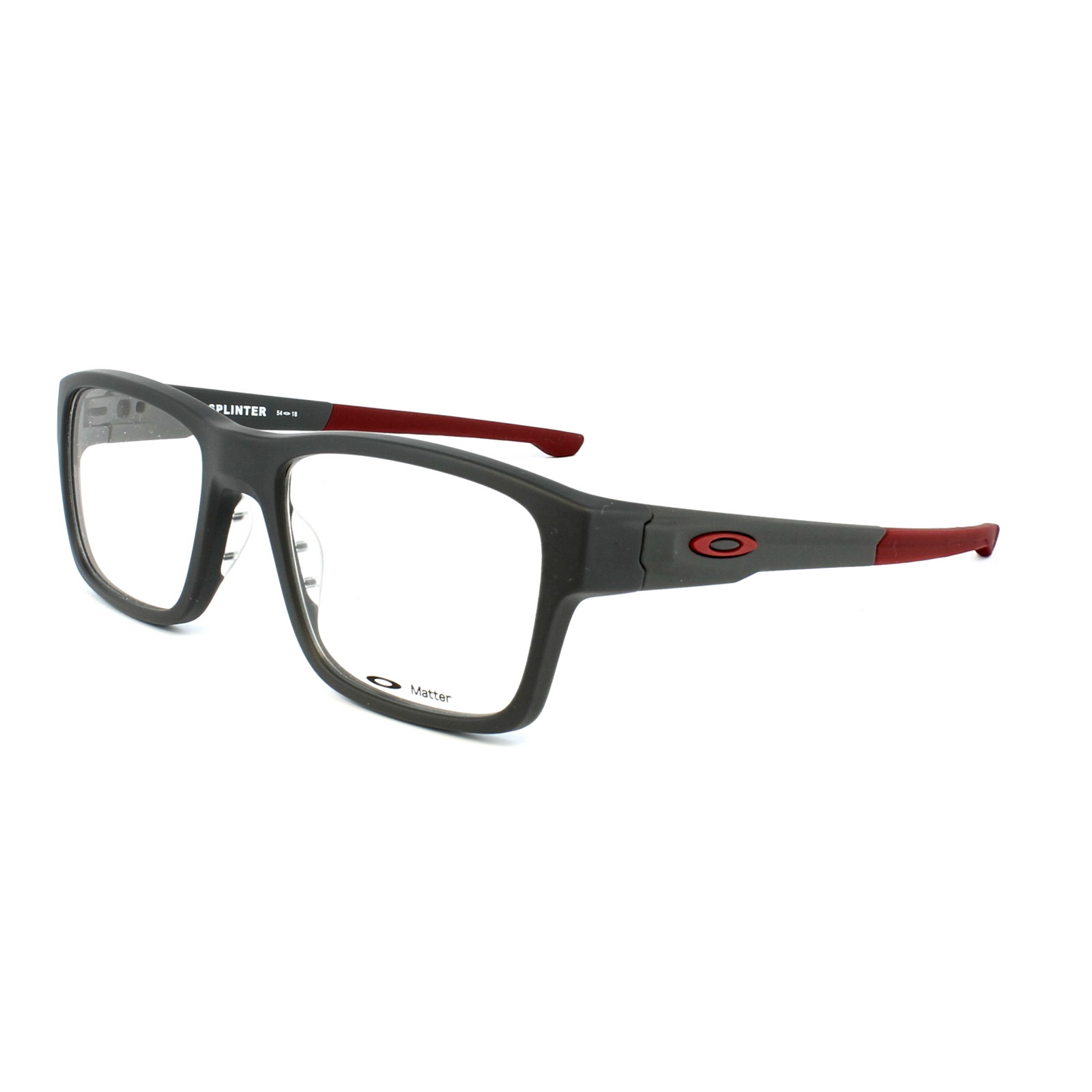 red oakley goggles  Cheap Oakley Splinter Glasses Frames - Discounted Sunglasses