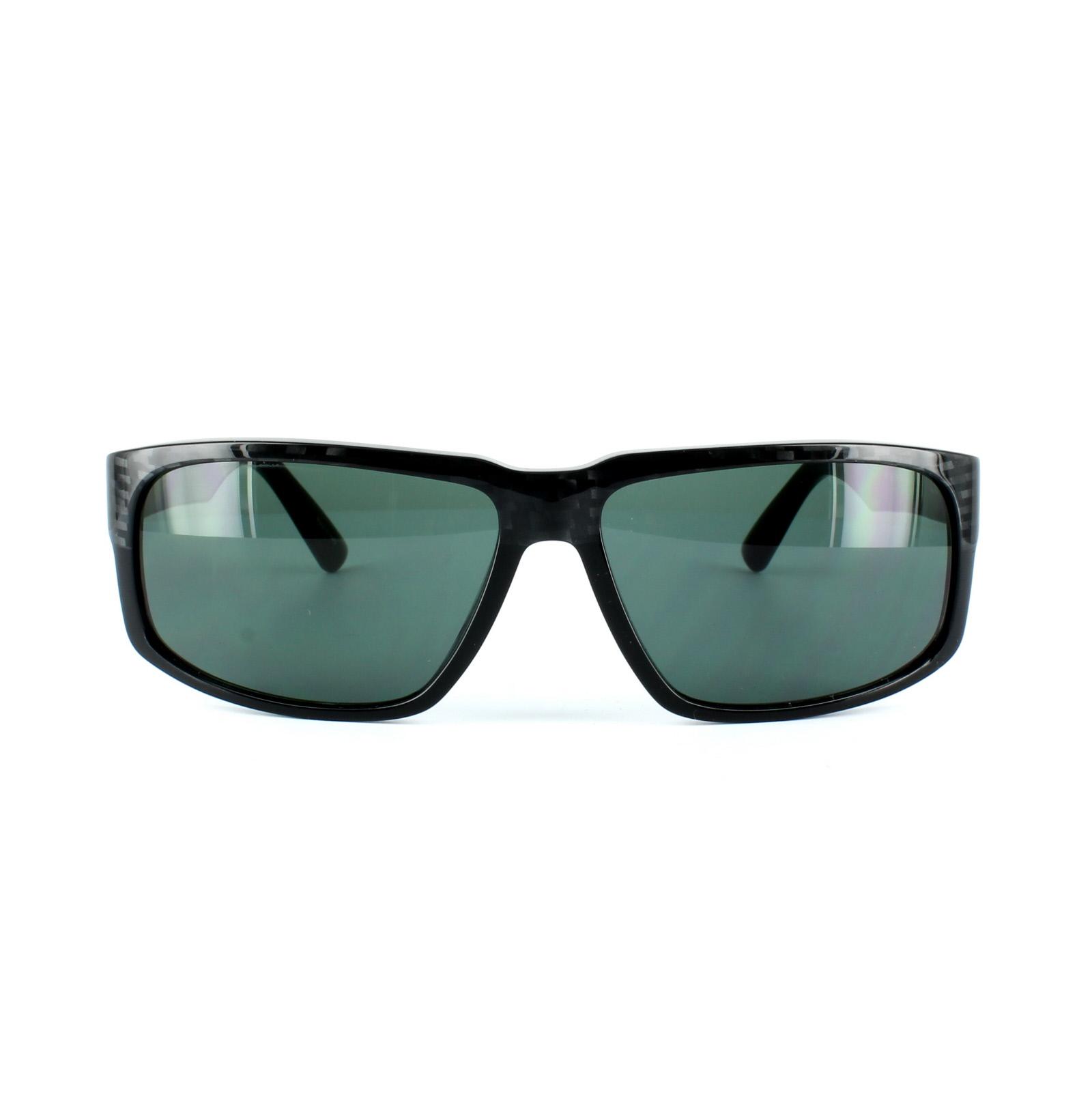 Porsche Design Sunglasses P8547 A Carbon Amp Black Green Ebay