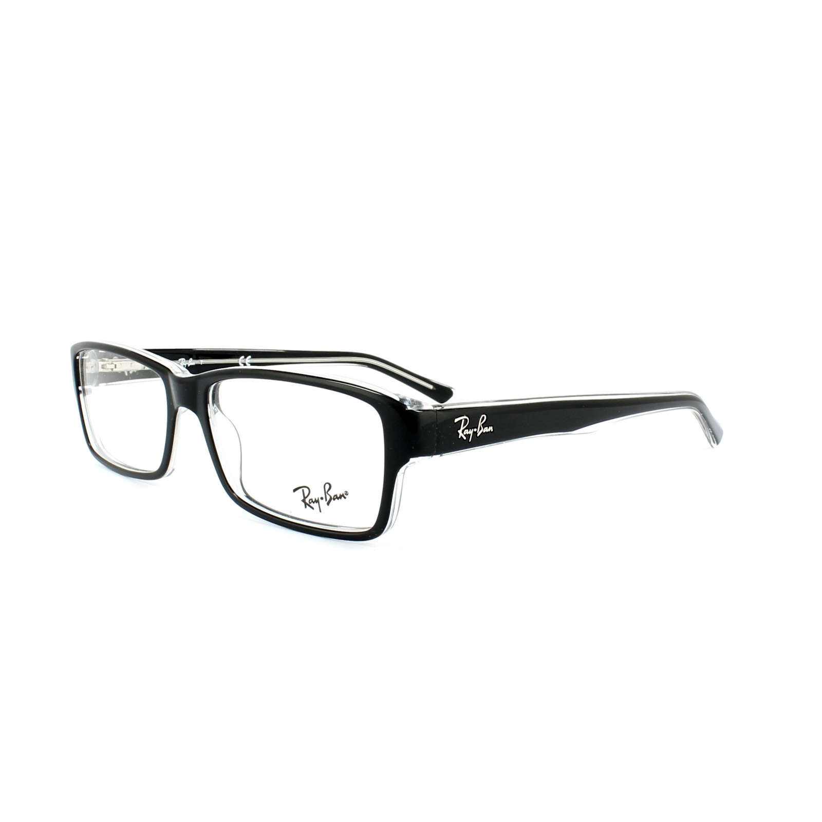 ray ban brillengestell 5169 2034 top black on transparent 54mm. Black Bedroom Furniture Sets. Home Design Ideas