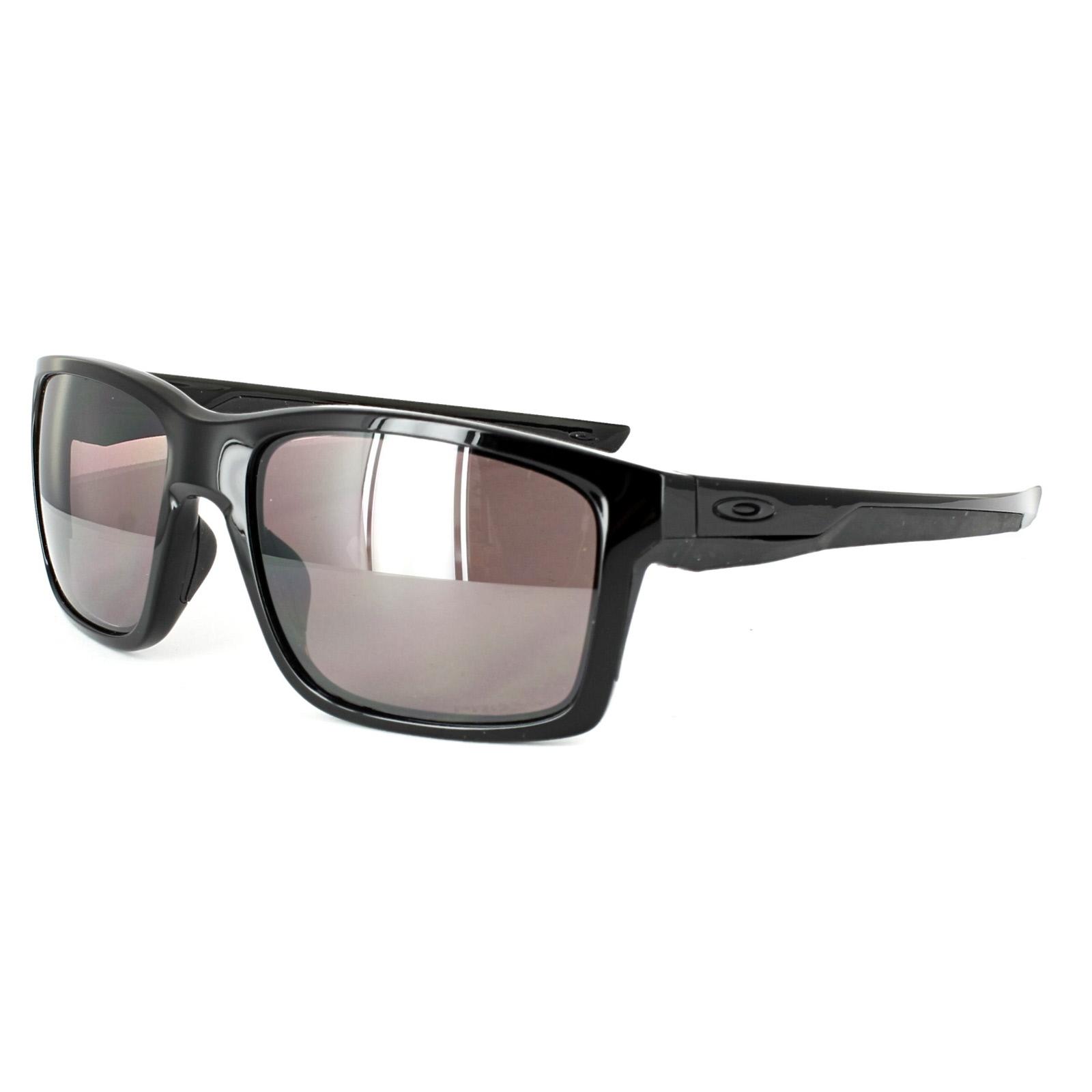 oakley sunglasses prizm  Oakley Sunglasses Mainlink OO9264-08 Polished Black Prizm Daily ...