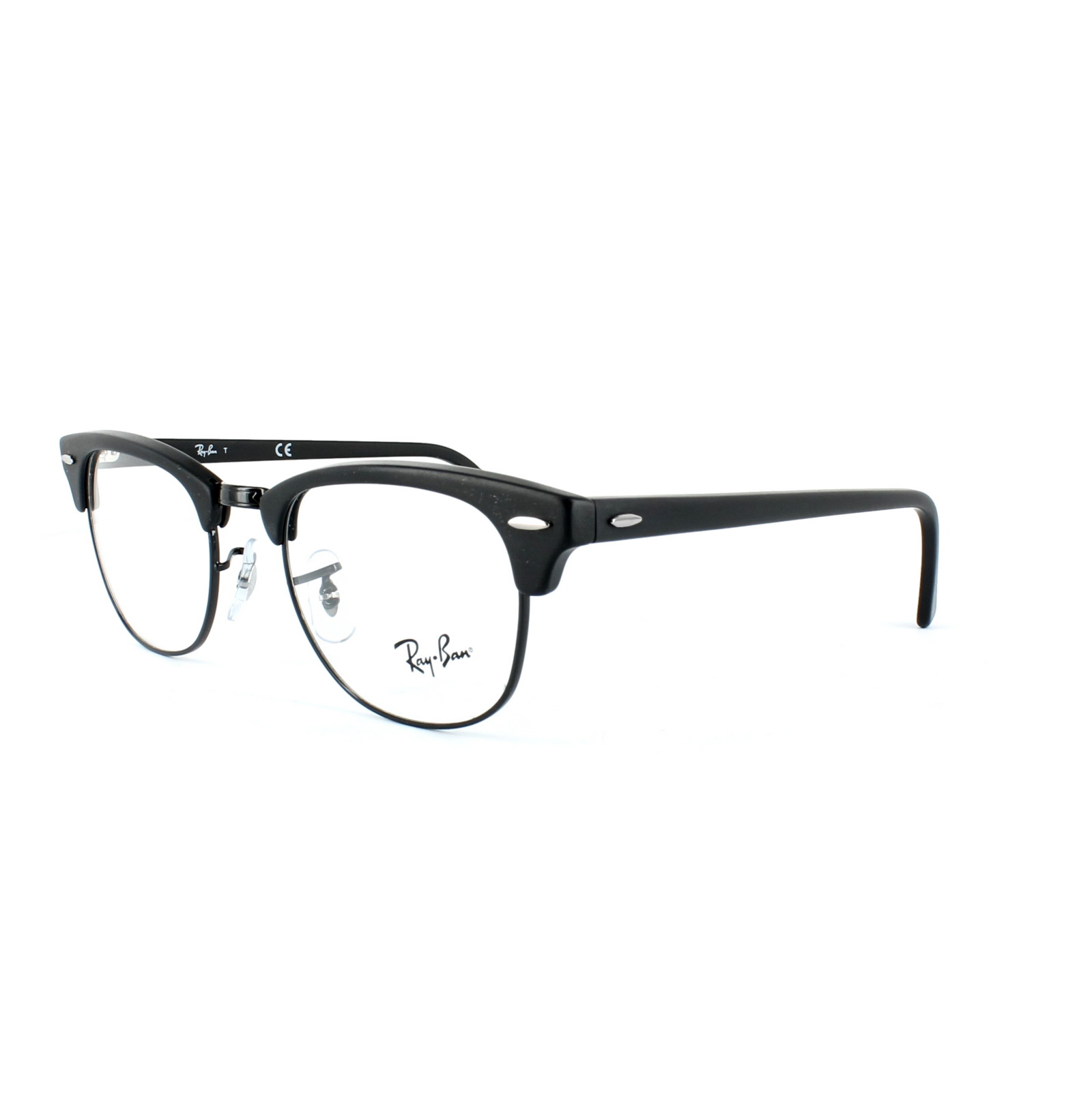 Ray Ban Clubmaster Glasses Frames : Ray-Ban Glasses Frames 5154 Clubmaster 2077 Matt Black eBay