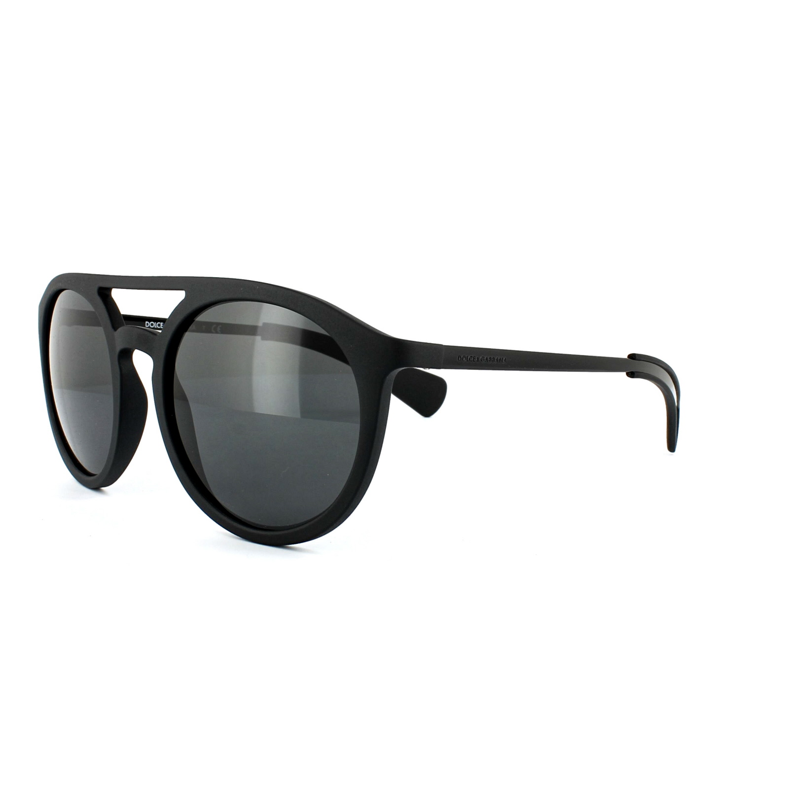 Dolce Gabbana Sunglasses Black  dolce gabbana sunglasses 6101 1934 87 matt black grey ebay