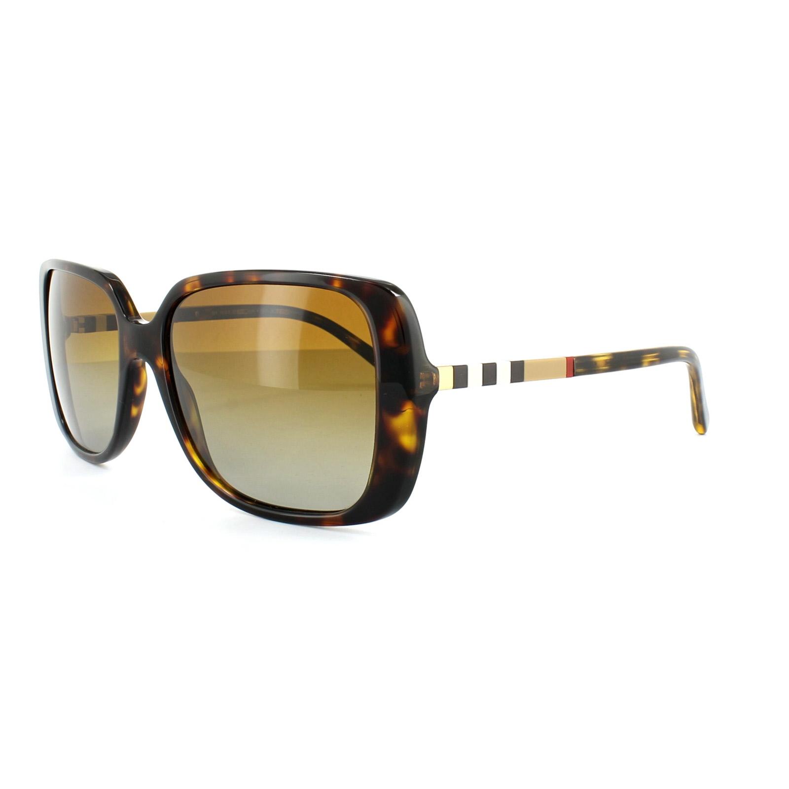 Polarized Burberry Sunglasses  burberry sunglasses 4198 3002t5 dark havana brown grant