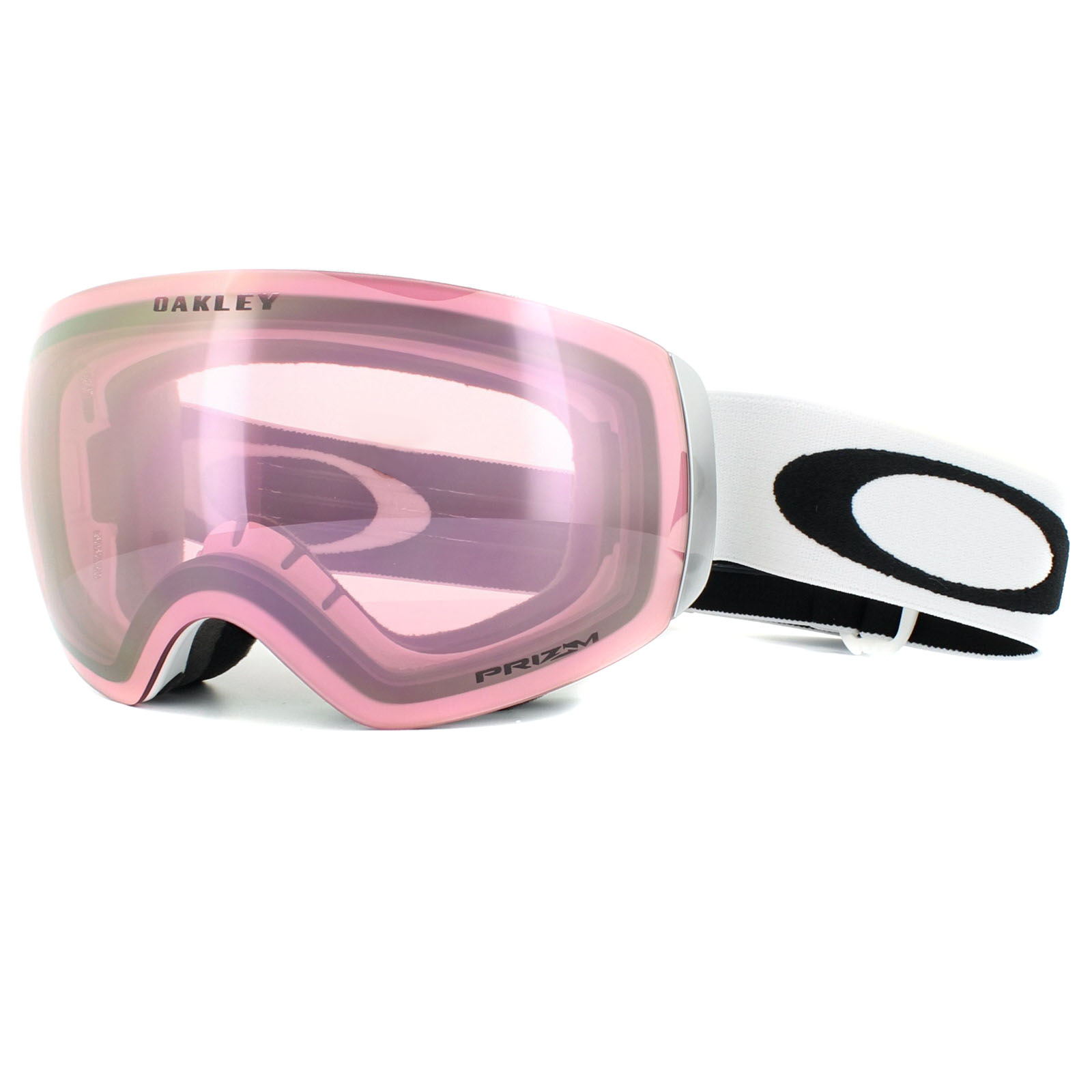 flight deck ski goggles  Oakley Ski Goggles Flight Deck XM OO7064-48 Matt White Prizm HI ...