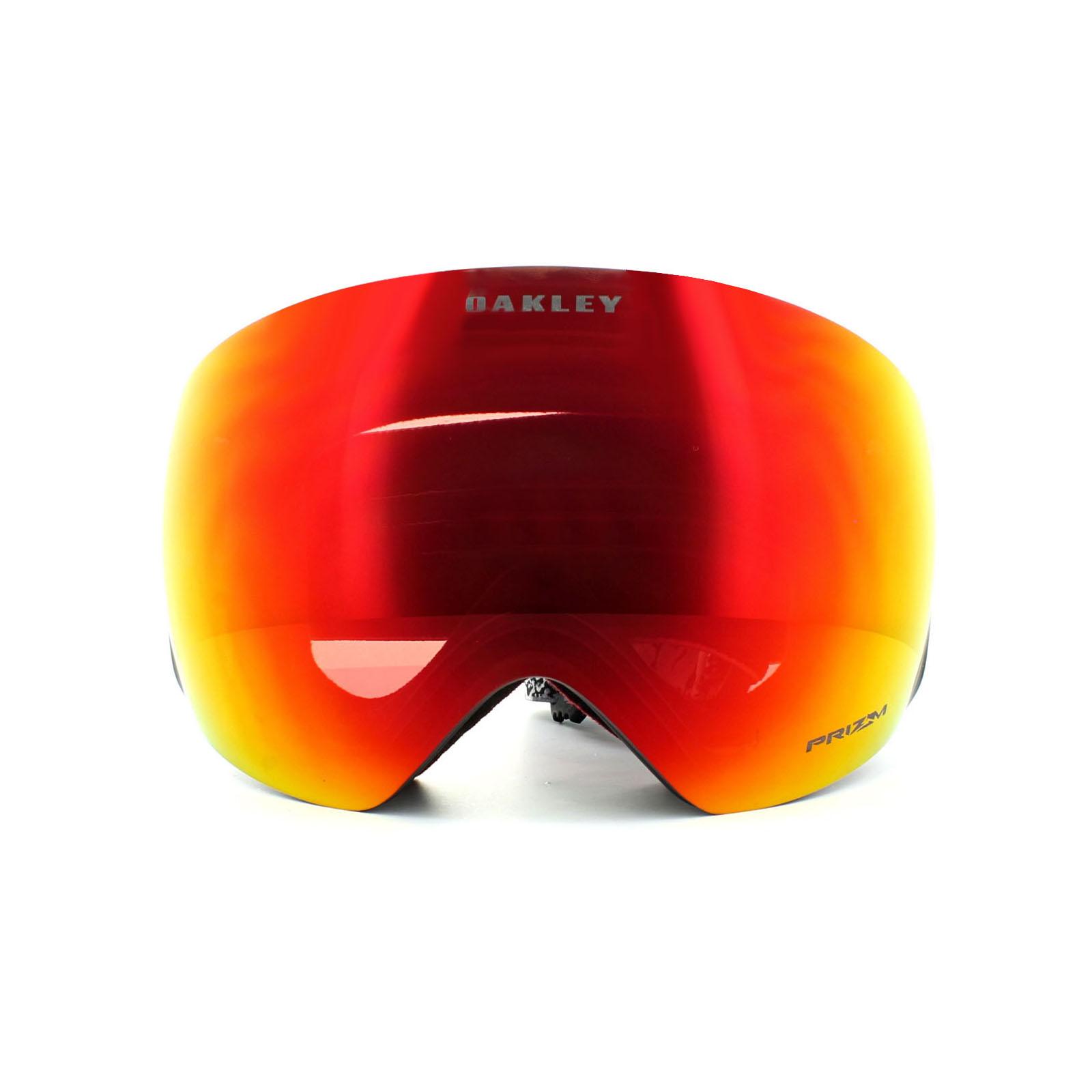 oakley ski goggles flight deck rnee  Oakley Ski Goggles Flight Deck OO7050-46 SM Valley Of Death Prizm Torch  Iridium