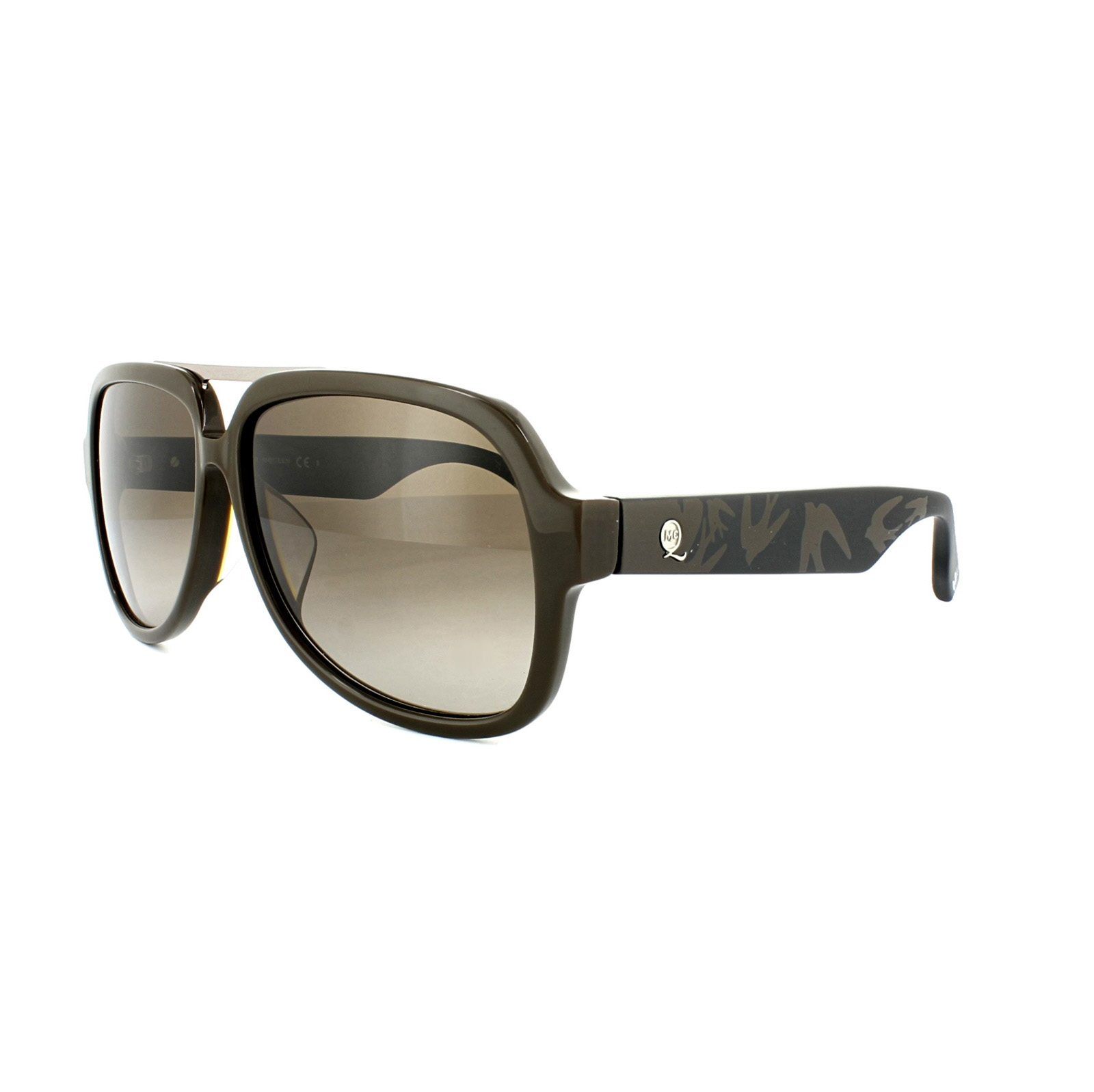 Mcq Sunglasses  mcq alexander mcqueen sunglasses 0040 f s slz blue crystal grey ebay