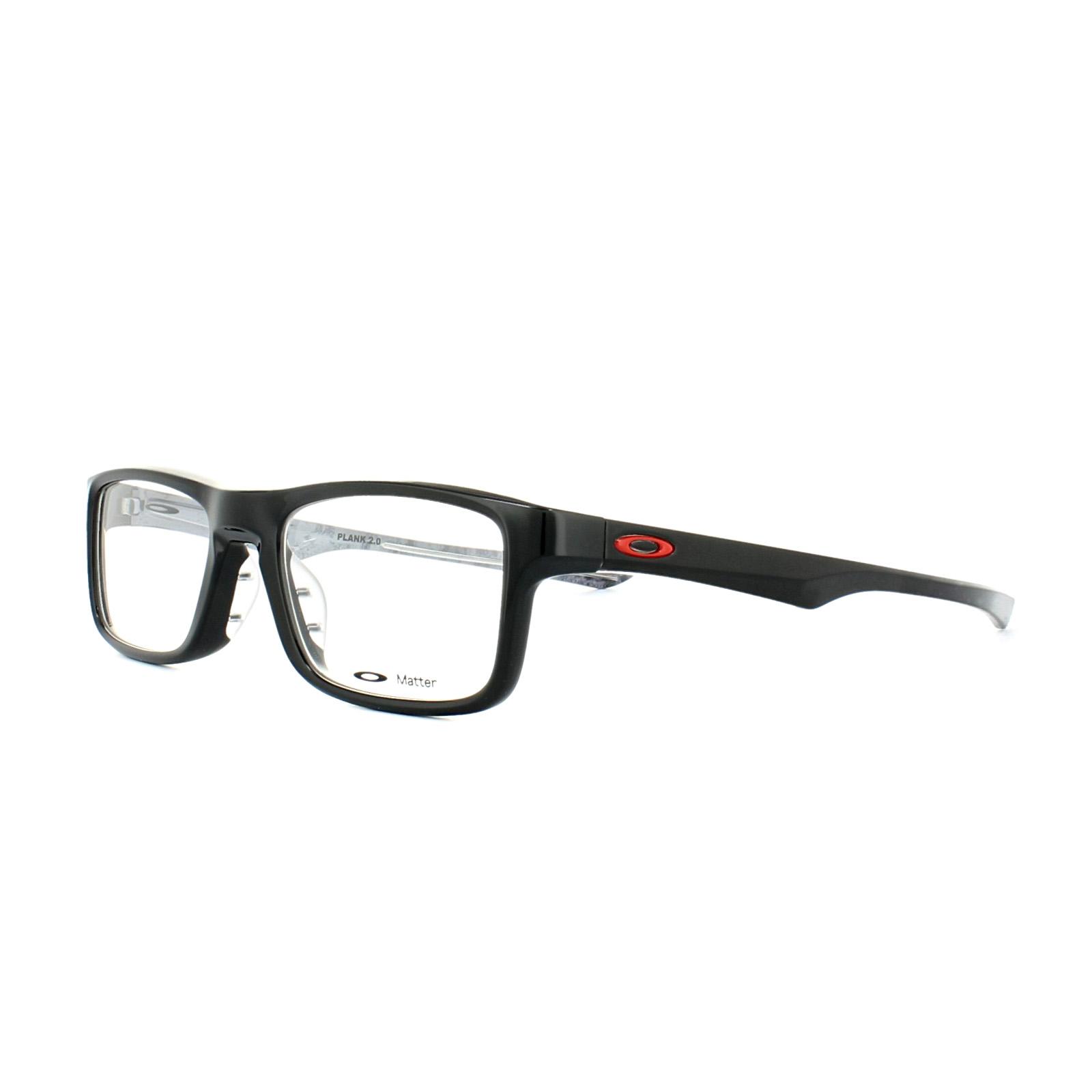 15e839cc47 Oakley Glasses Frames Plank 2.0 OX8081-02 Polished Black