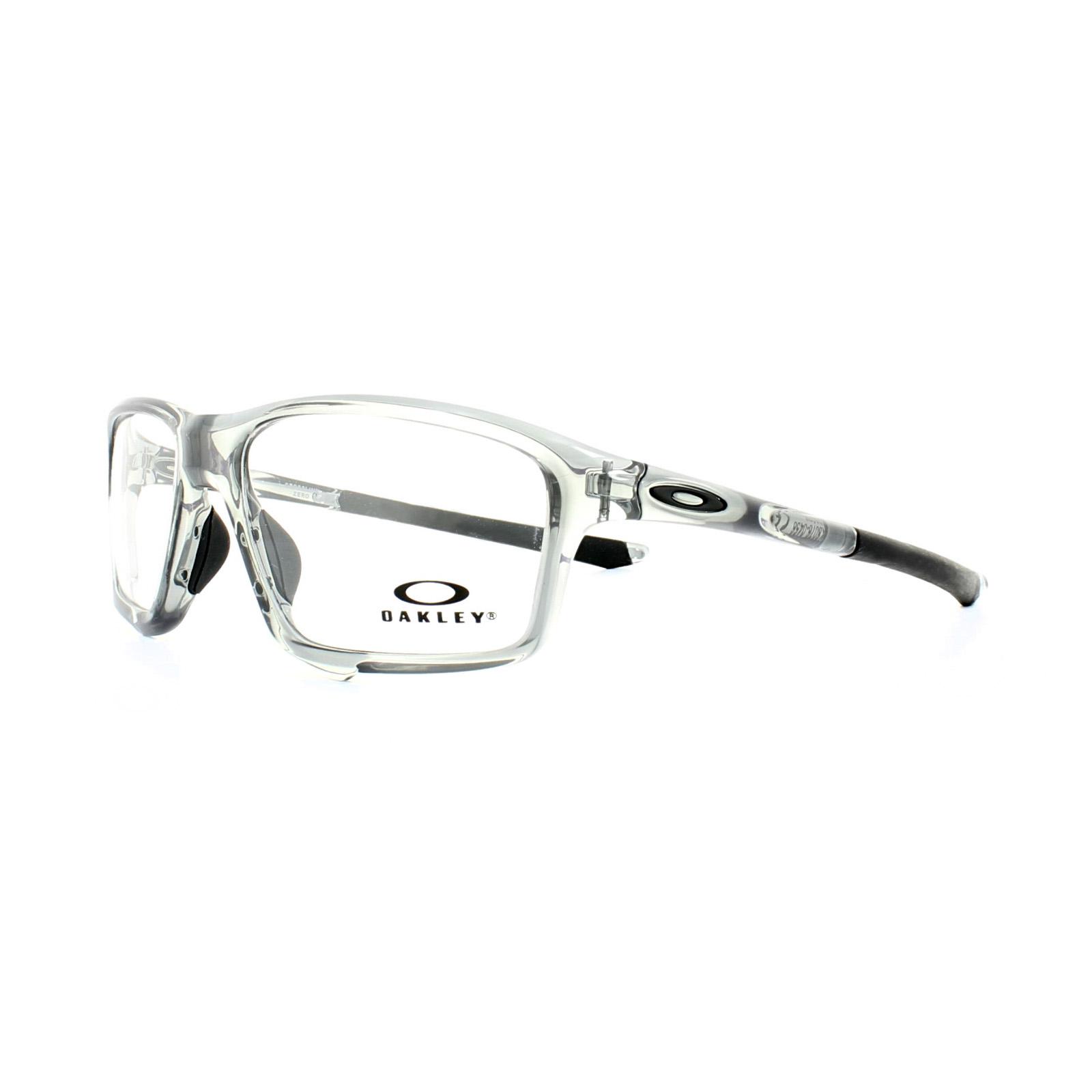 oakley glasses frames crosslink zero ox8076 04 polished