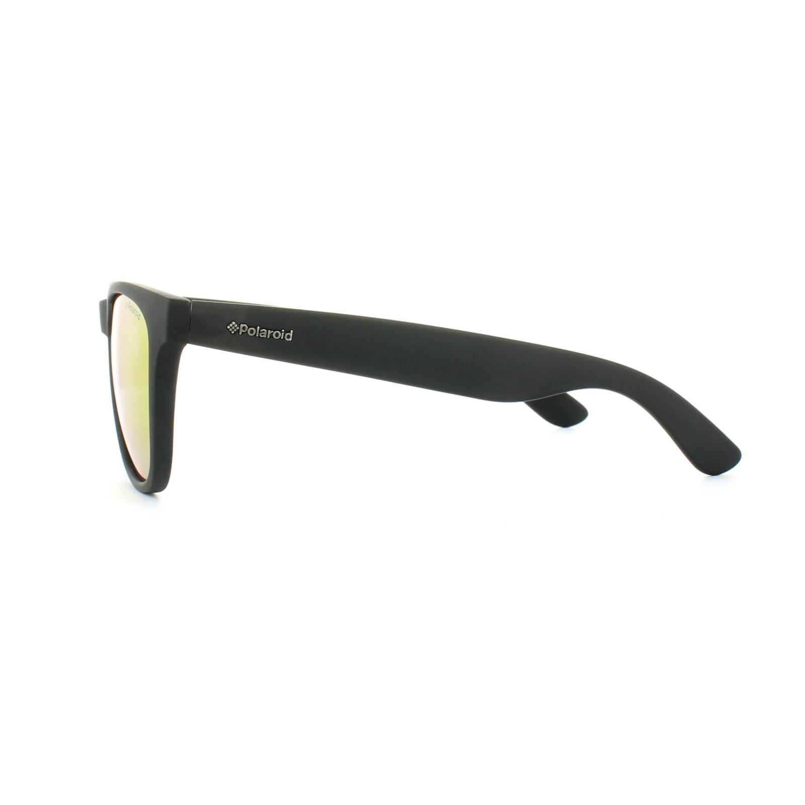 Polaroid occhiali da sole p8443 9ca l6 nero gomma grigio - Specchio polarizzato ...