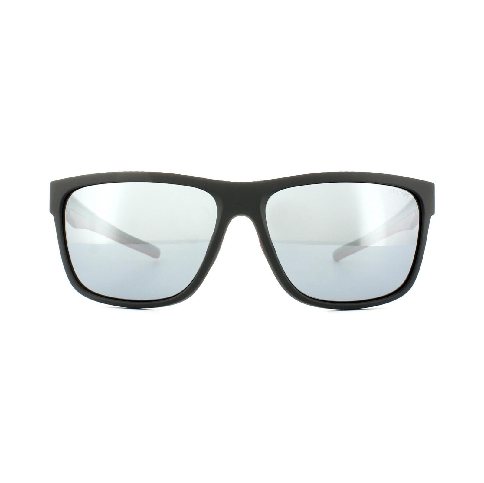 Polaroid sport occhiali da sole pld 7014 s oit ex nero - Specchio polarizzato ...