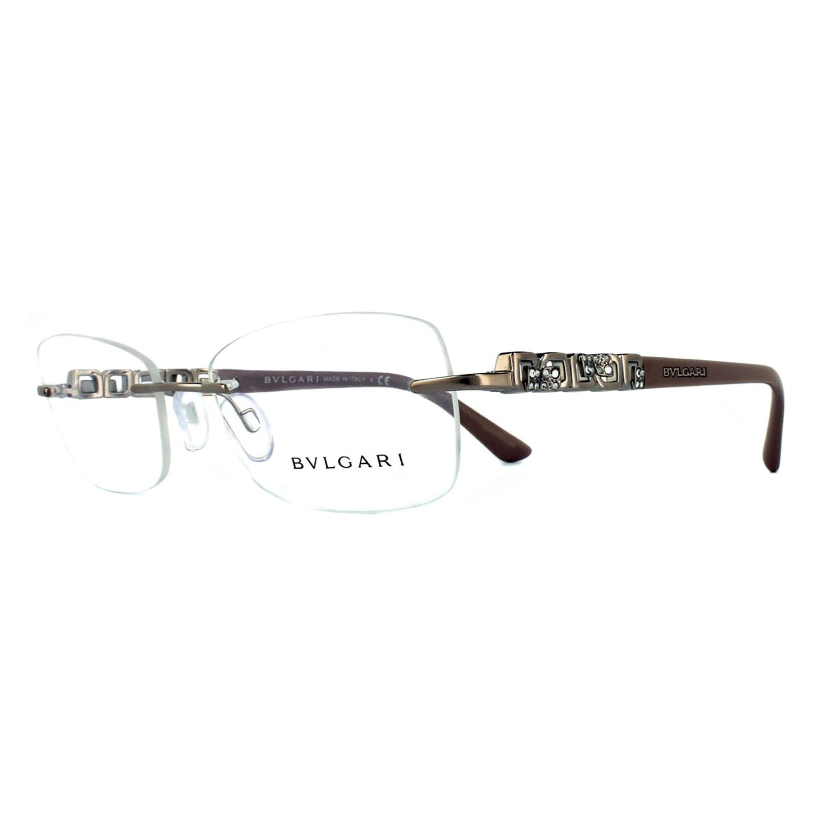 Amazoncom bvlgari eyeglasses women