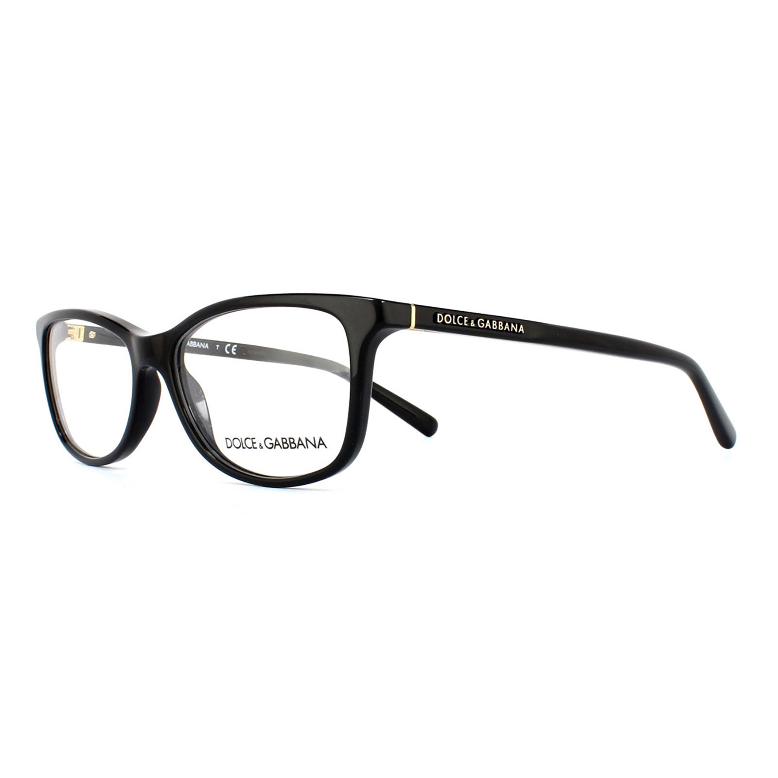 Dolce and Gabbana Glasses Frames 3222 501 Black Womens ...