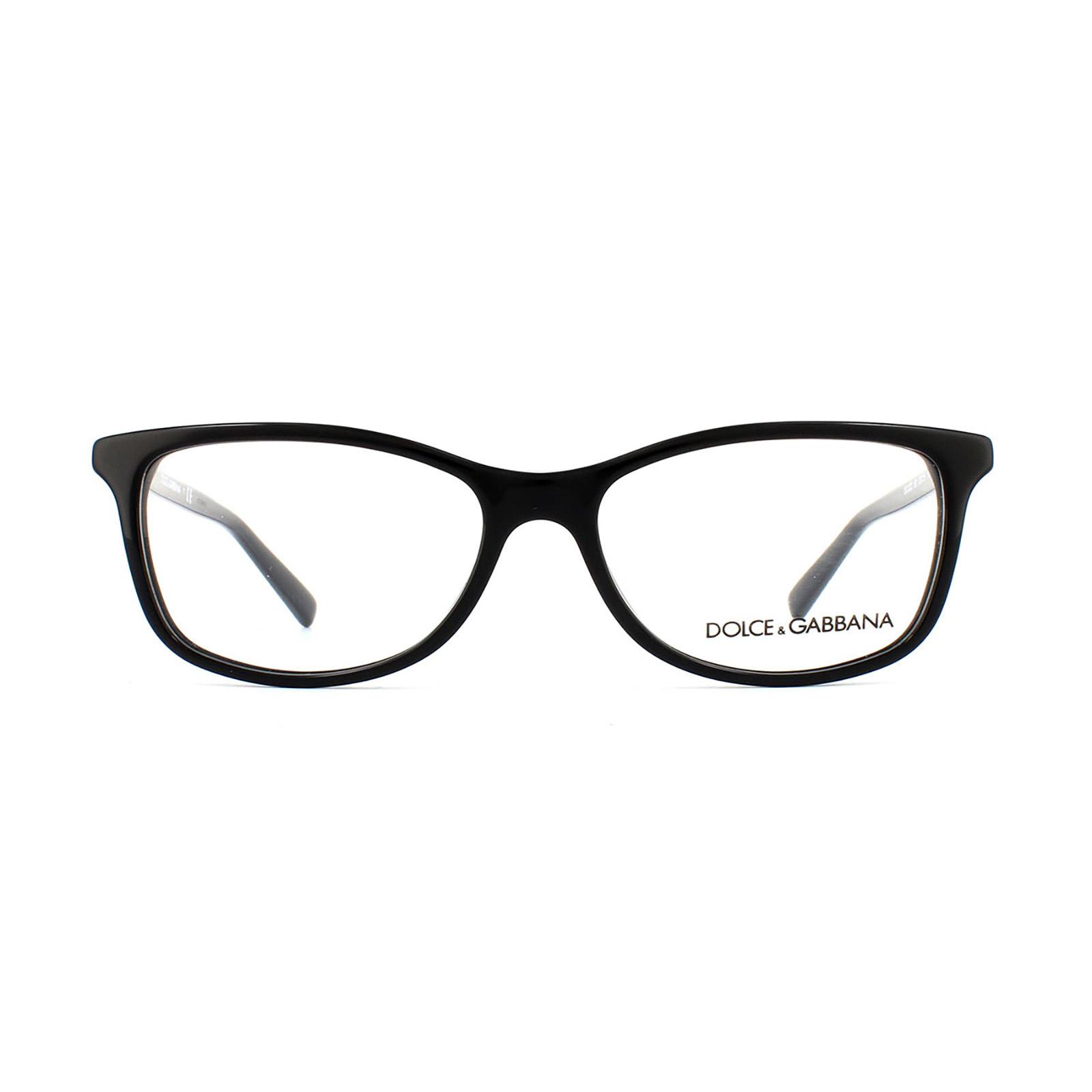 Dolce and Gabbana Glasses Frames 3222 501 Black Womens ...
