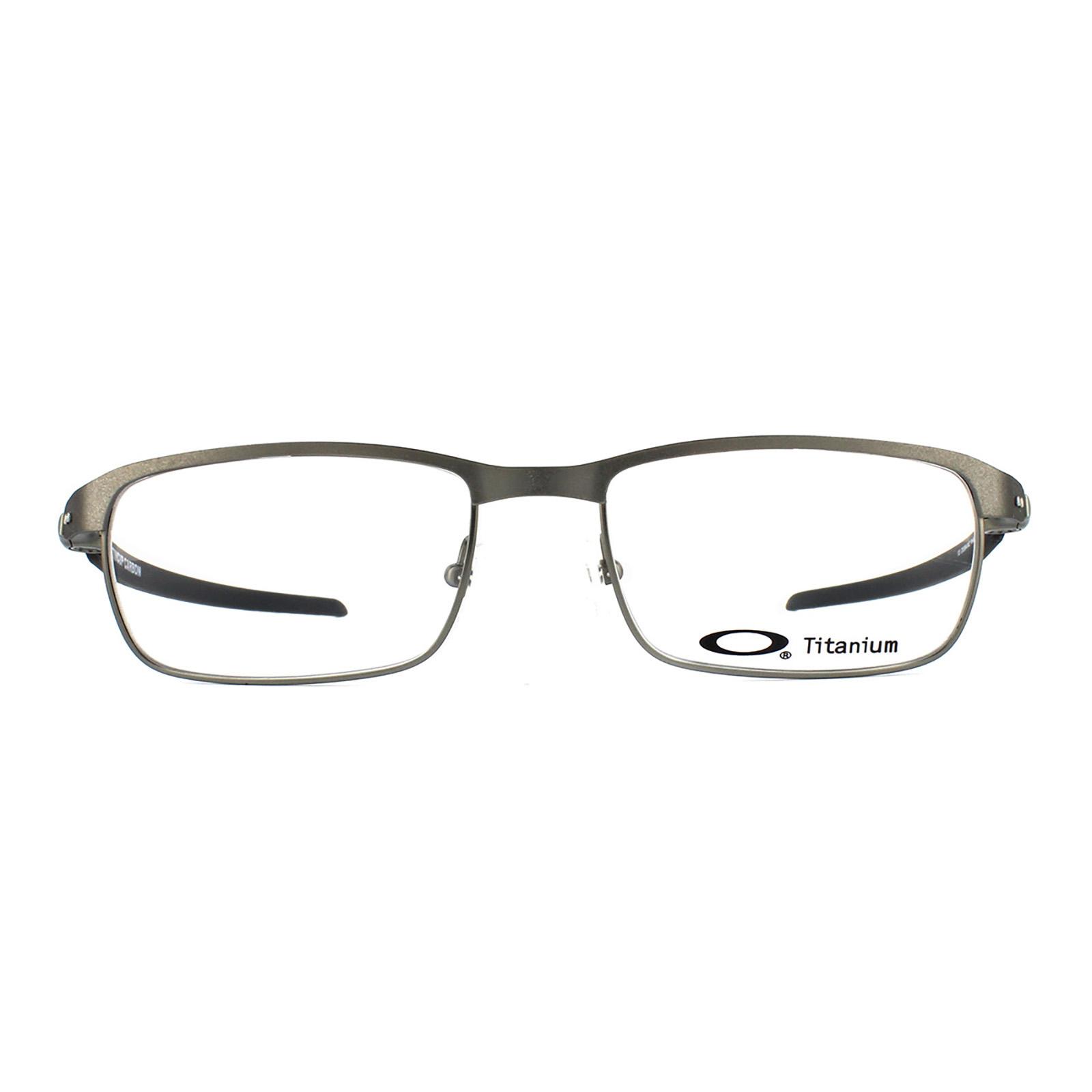 9e40cb269de Oakley Glasses Frames 5094 Tincup Carbon 509404 Powder Steel Men 52mm