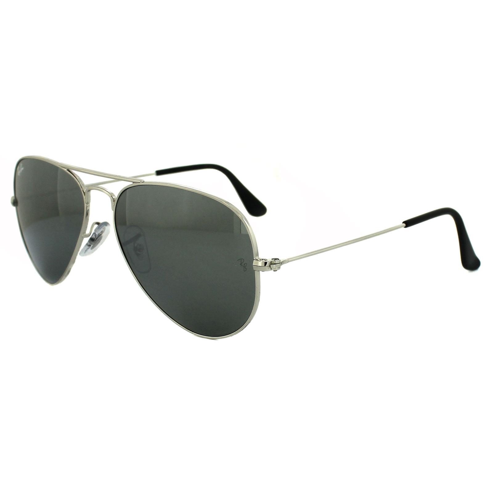 ray ban 3025 silver grey