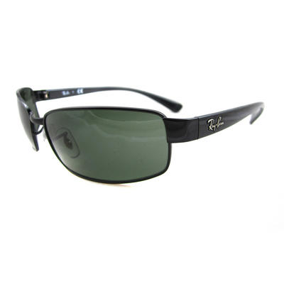 Rayban Sunglasses 3364 002 Black Green 62mm Preview