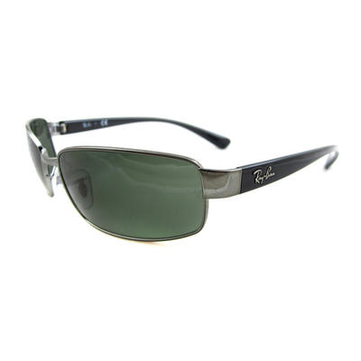 Rayban Sunglasses 3364 004 Gunmetal Green 59mm Preview