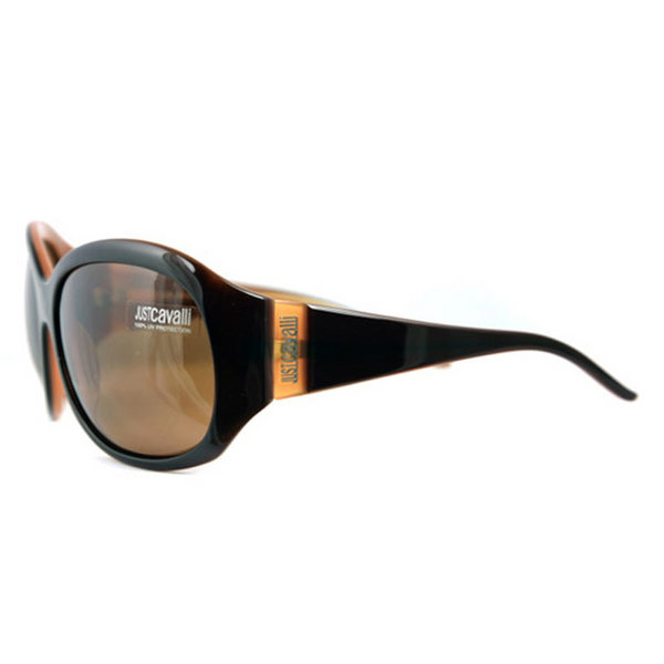 Just Cavalli Sunglasses JC076 K49 Brown Copper Brown Buy Online