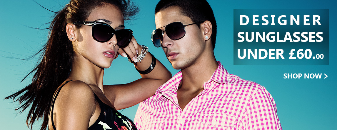 Designer Sunglasses Under £60.00