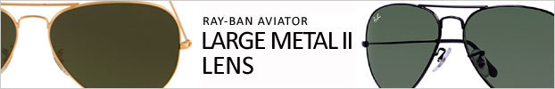 Aviator Large metal 2 Lens