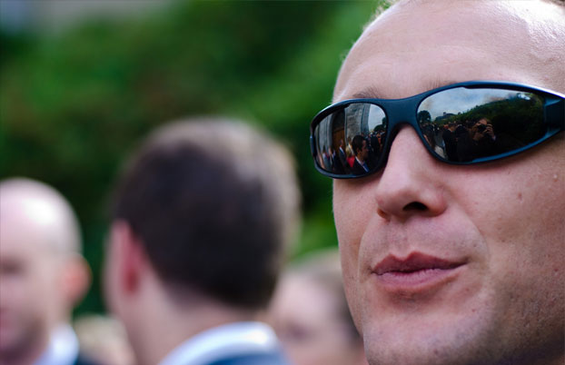 Sports sunglasses and weddings go together like oil and water by Discounted sunglasses