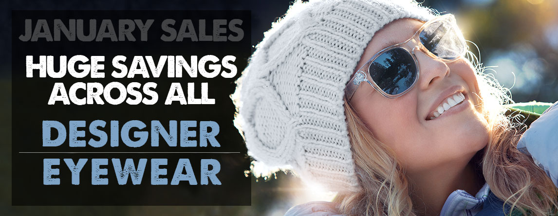 Designer Sunglasses Under £60.00 throughout January