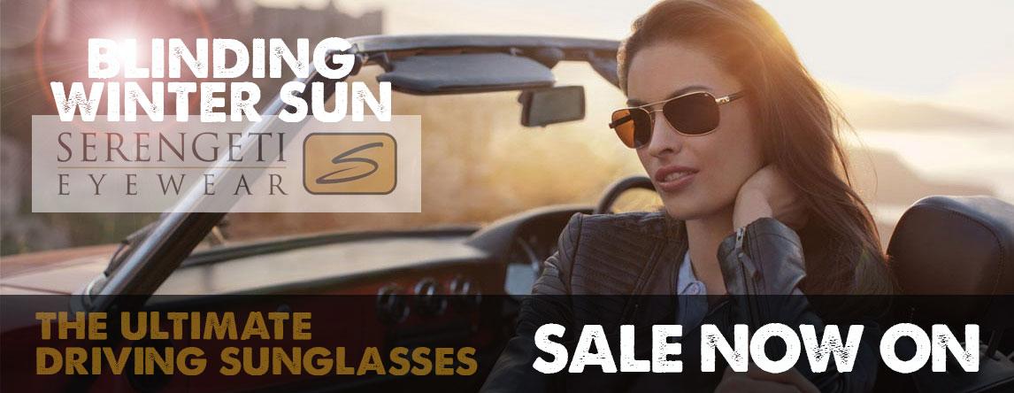 Serengeti Sunglasses Starting from £45.00