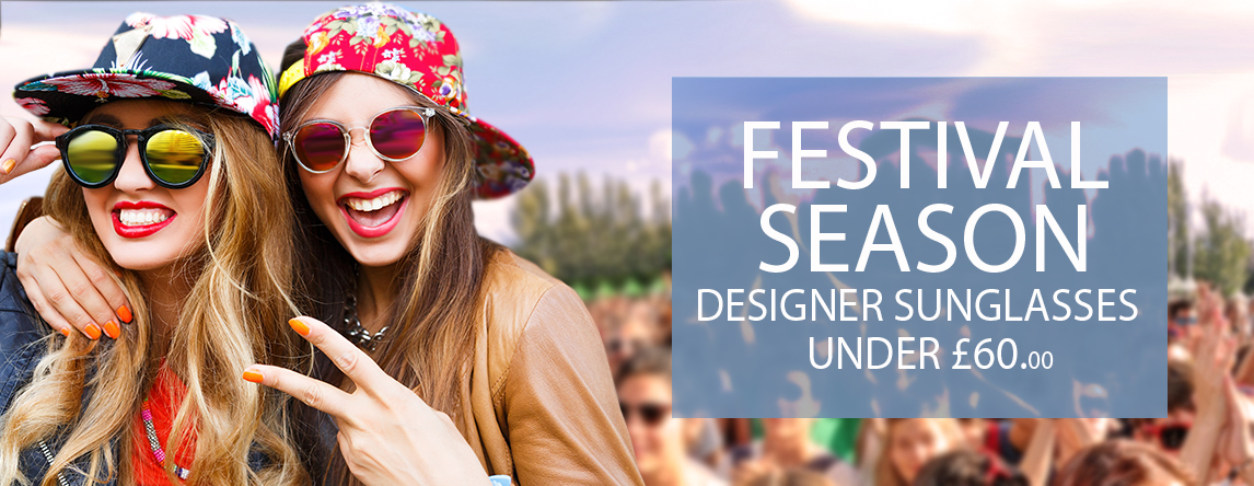 Festival Season Designer Sunglasses Under £60.00