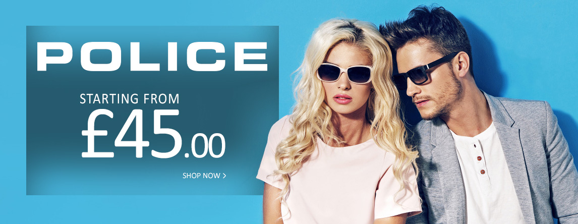 Police Sunglasses Starting from £45.00