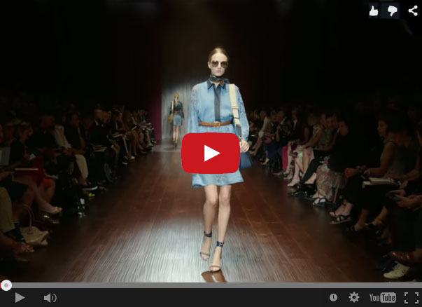 Sunglasses Gucci Spring and Summer Collection 2015 video