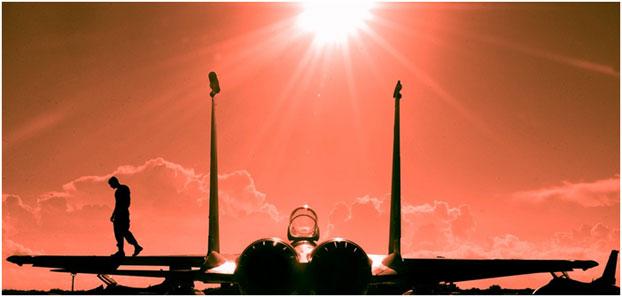 History of Ray-Ban - American Air Force pilots