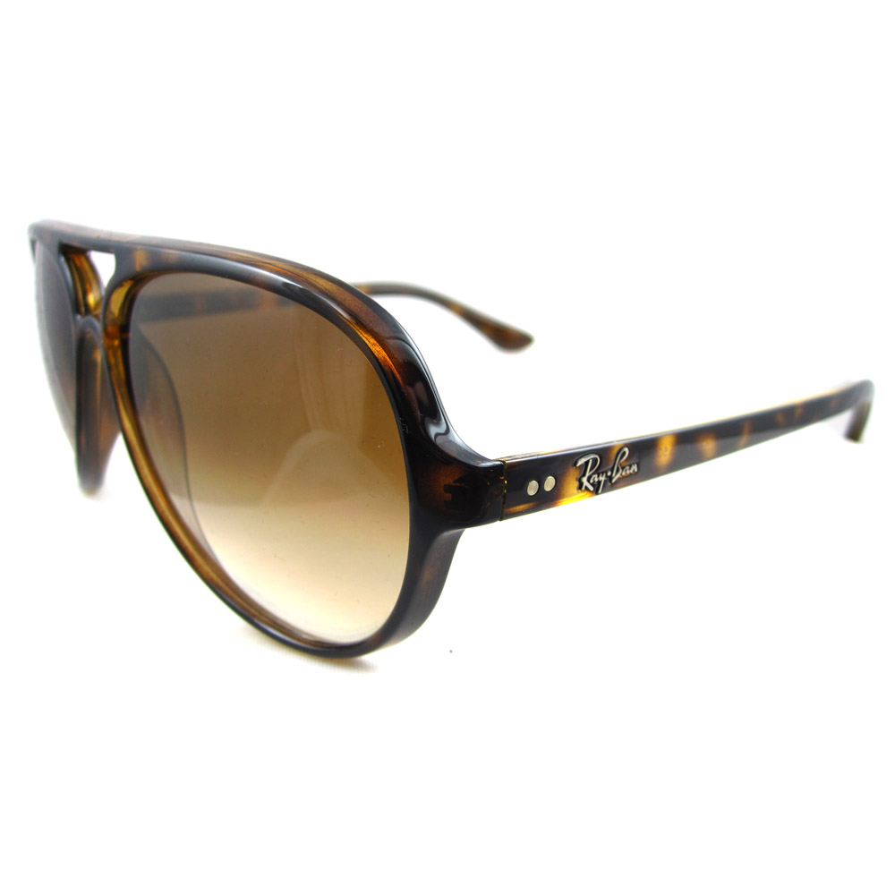 7668d1cf89a Ray Ban Cats 5000 Sunglasses In Faded Brown