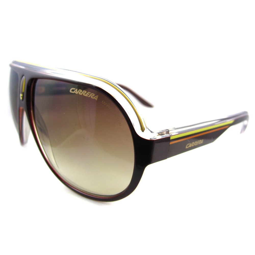 Carrera Sunglasses Speedway KDT 1W Brown & Yellow