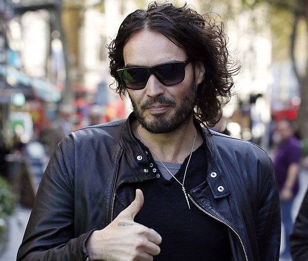 Russell Brand pledges to help communities