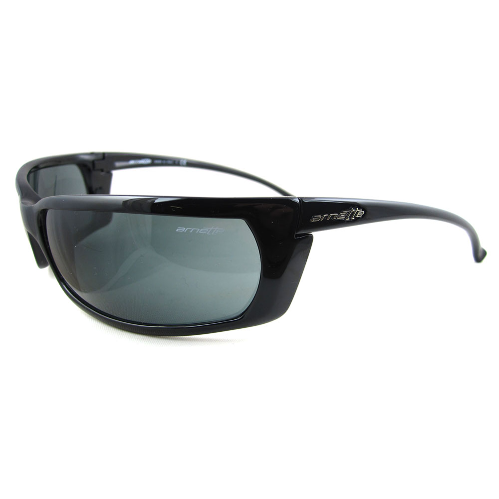 Arnette Sunglasses Slide 4007 41/87 Gloss Black Grey