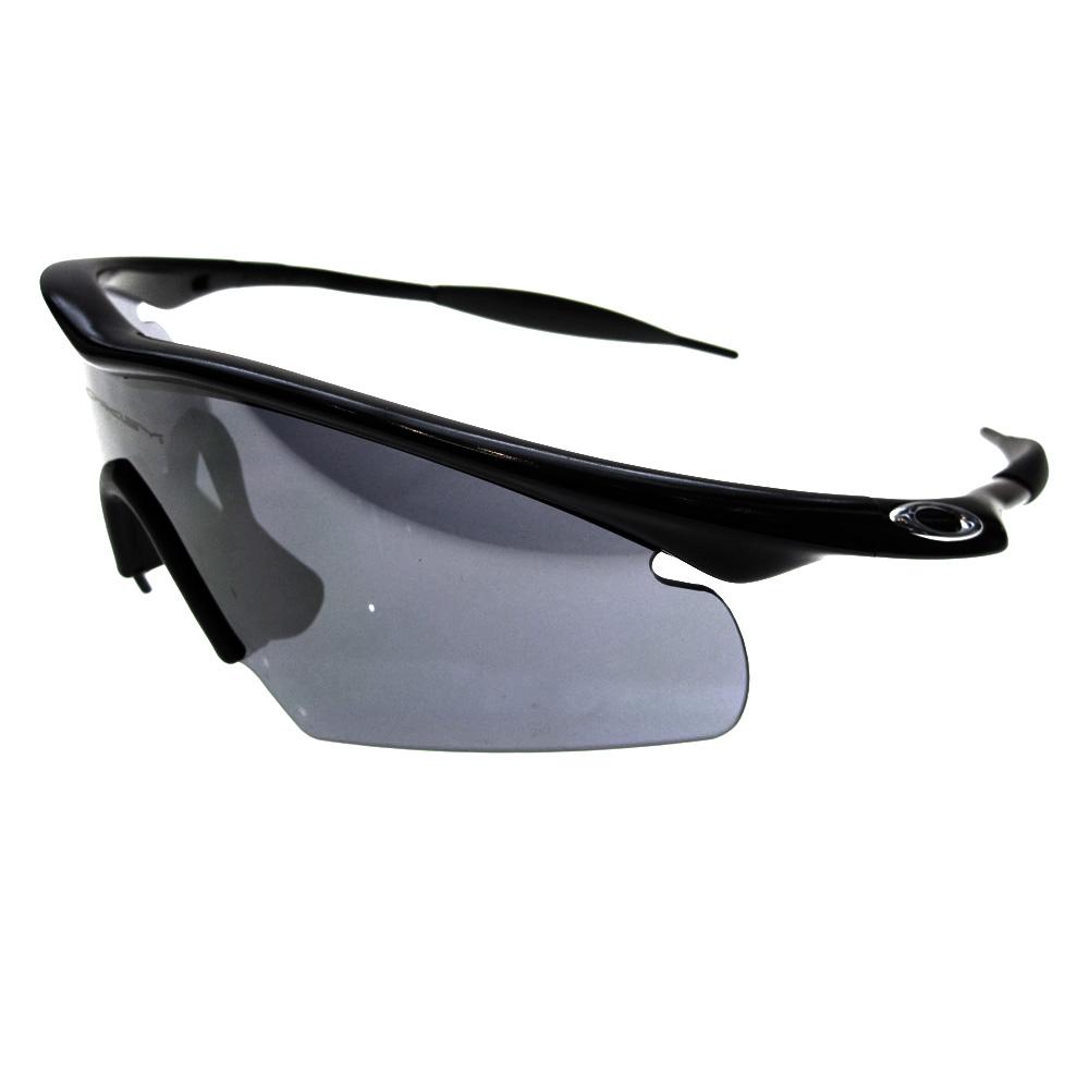 Oakley A Frame Jet Black Sunglasses Louisiana Bucket Brigade