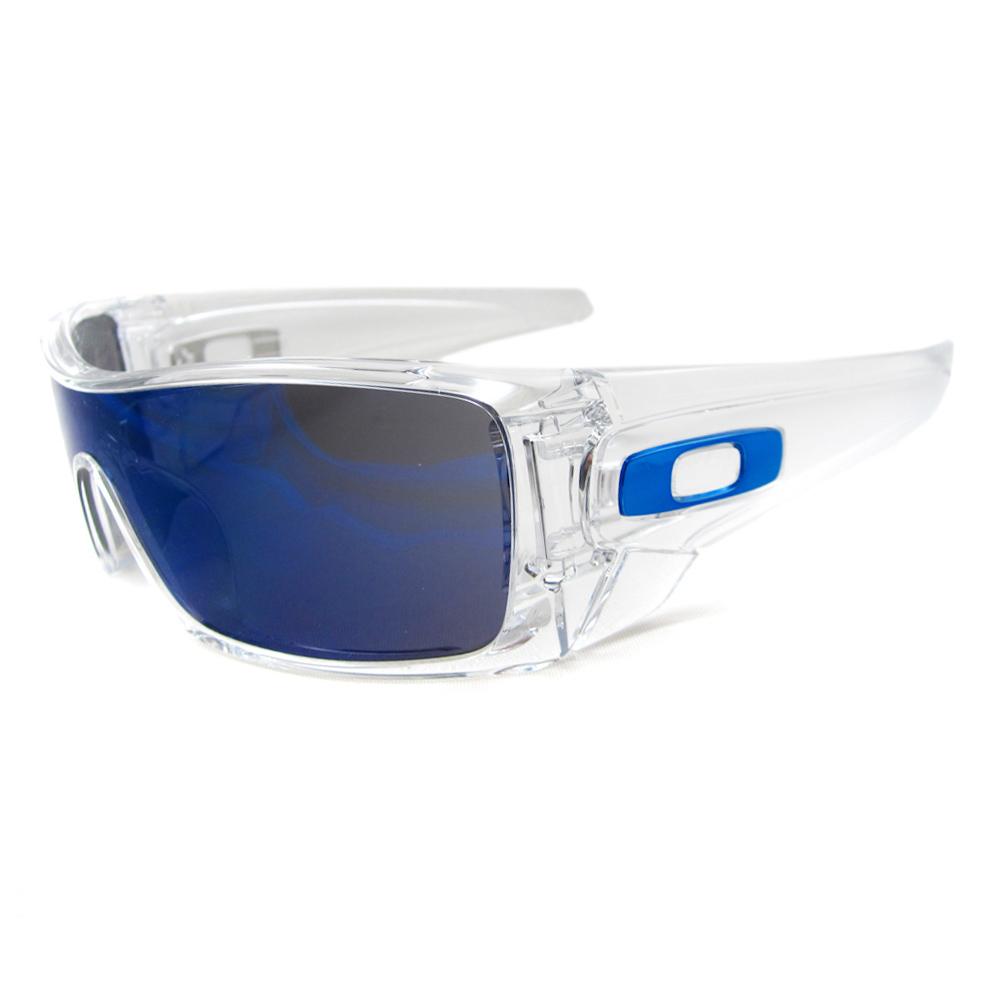 Oakley Sunglasses Batwolf 910107 Clear Ice Iridium