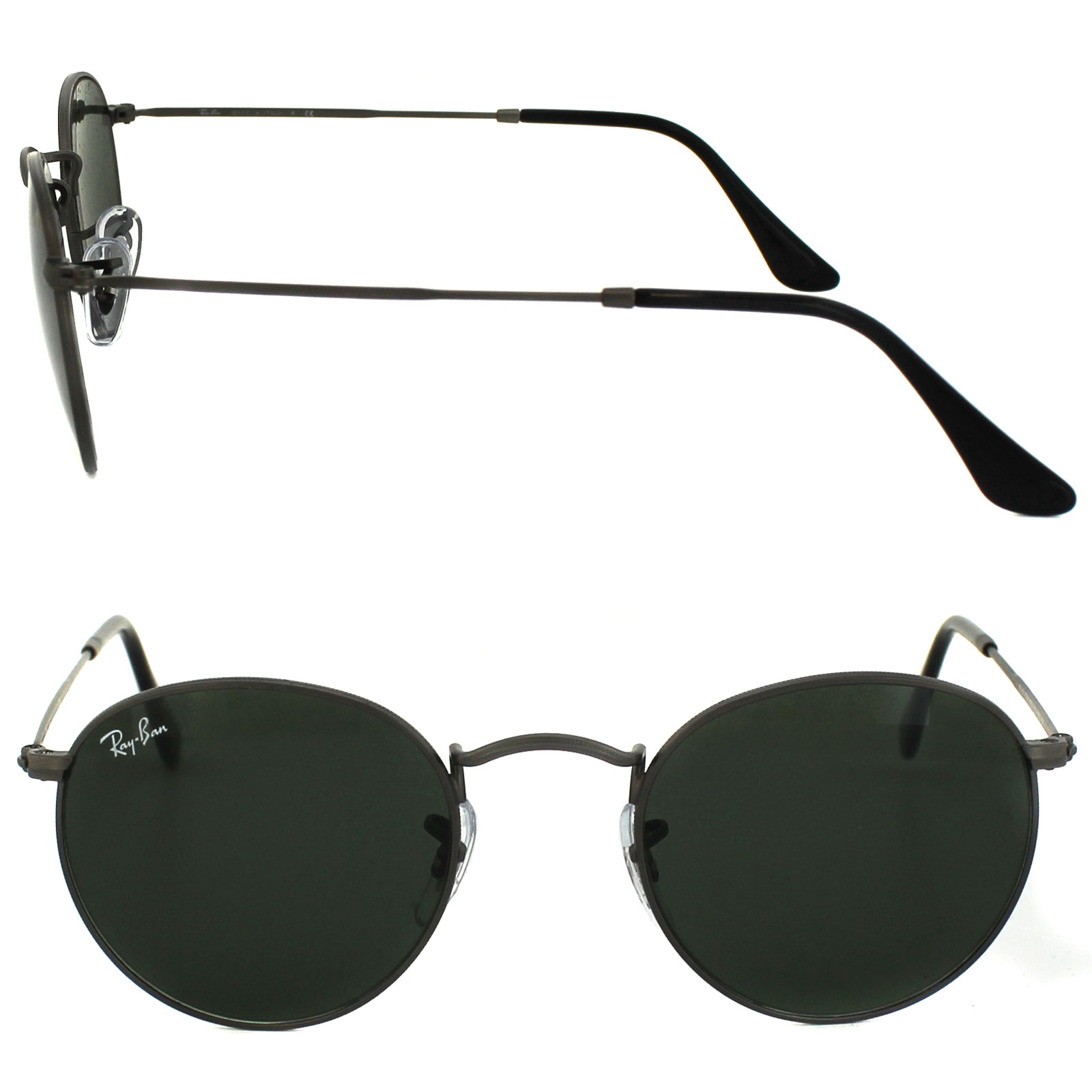 ray ban small round metal 47